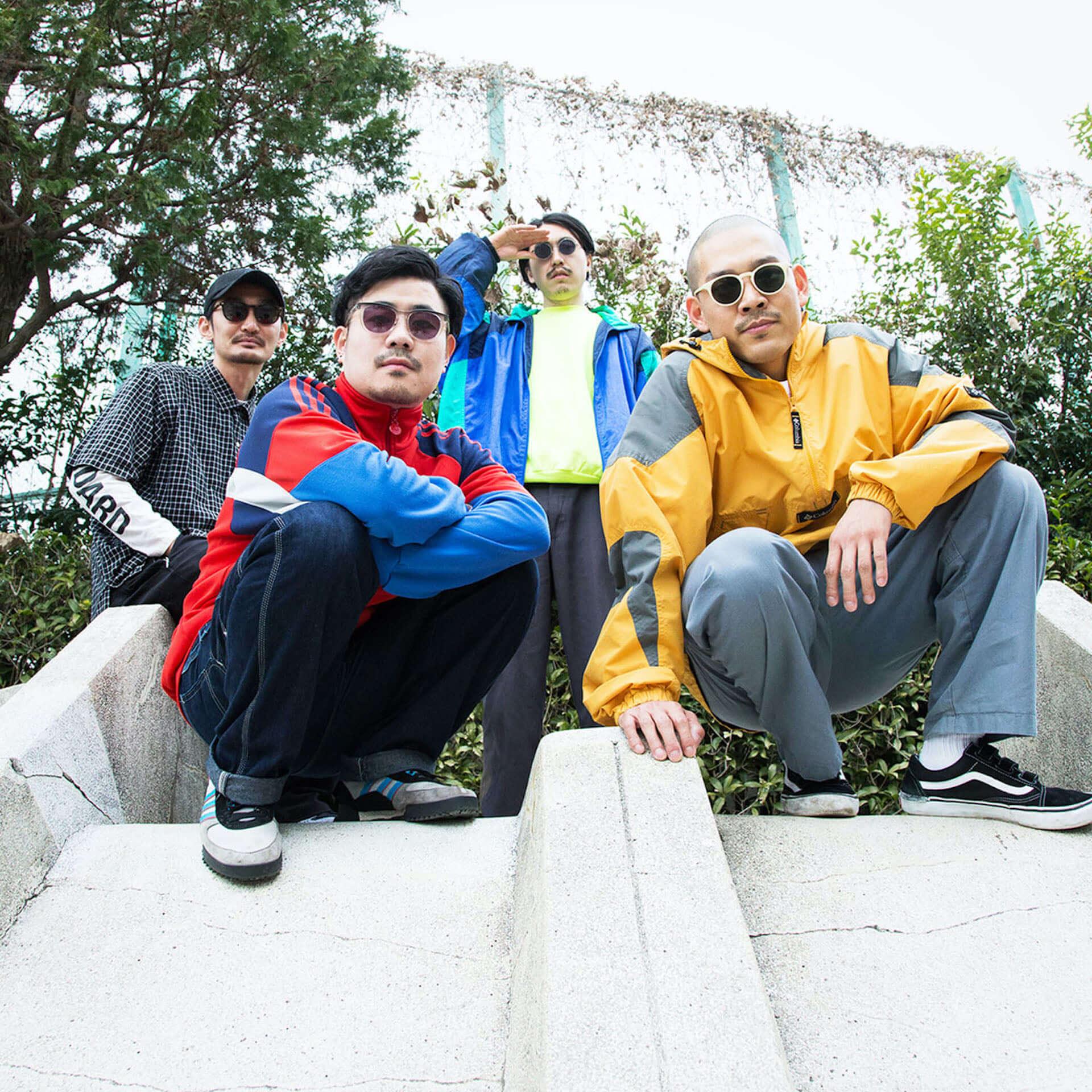 """TOKYO HEALTH CLUBの""""リピート feat. 塩塚モエカ""""と""""夢のような(REMIX) feat. おかもとえみ""""が7インチでリリース決定! music201015_tokyohealthclub_3-1920x1920"""