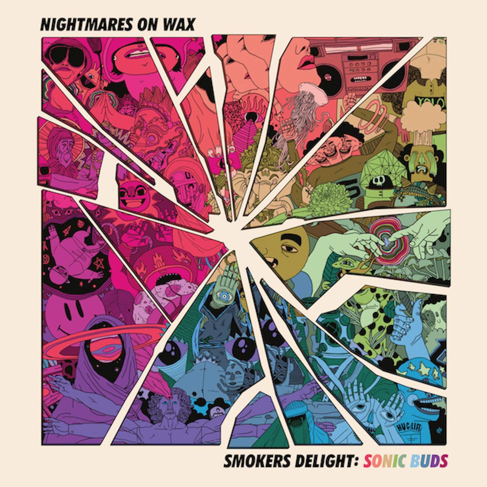 Nightmares On Wax本人が見た夢にインスパイアされたショートフィルムが公開!歴史的名盤に新曲を追加した12インチ『Smokers Delight: Sonic Buds』が本日リリース music201016_nightmaresonwax_1