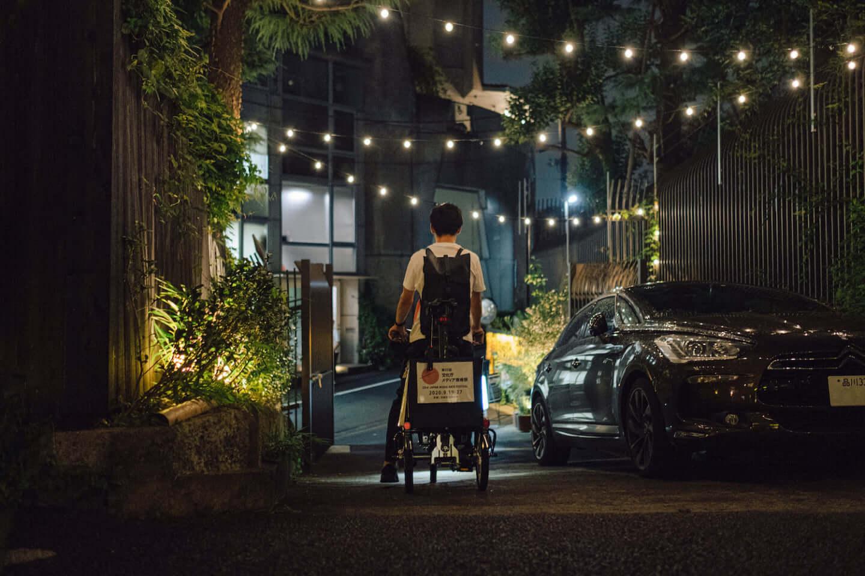 自転車がアートを運び、風景が変わる。文化庁メディア芸術祭とMAPP_が提案する街のインスタレーション art0916_mapp_tokyo_12-1440x960