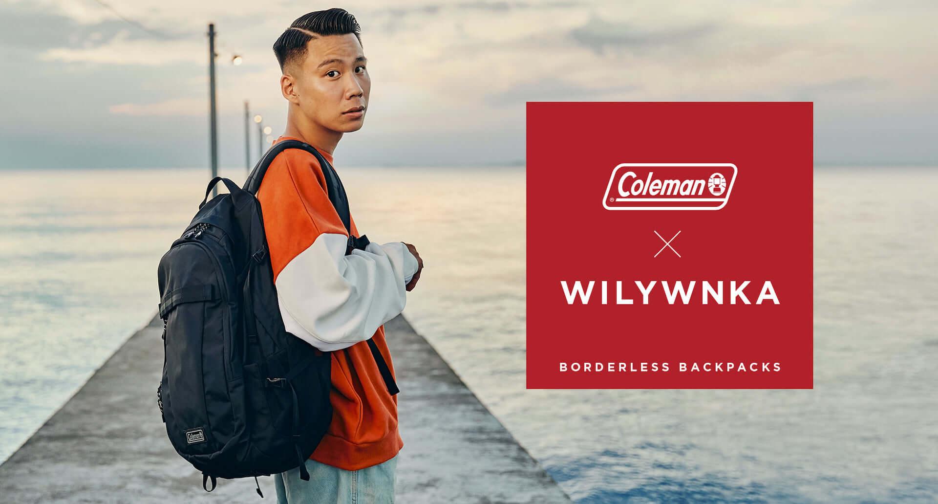 "WILYWNKAがコールマンの新作バックパックを着用!新曲""Direction By Me""のMVが公開&本人コメントも到着 music201016_coleman-wilywnka_4-1920x1031"