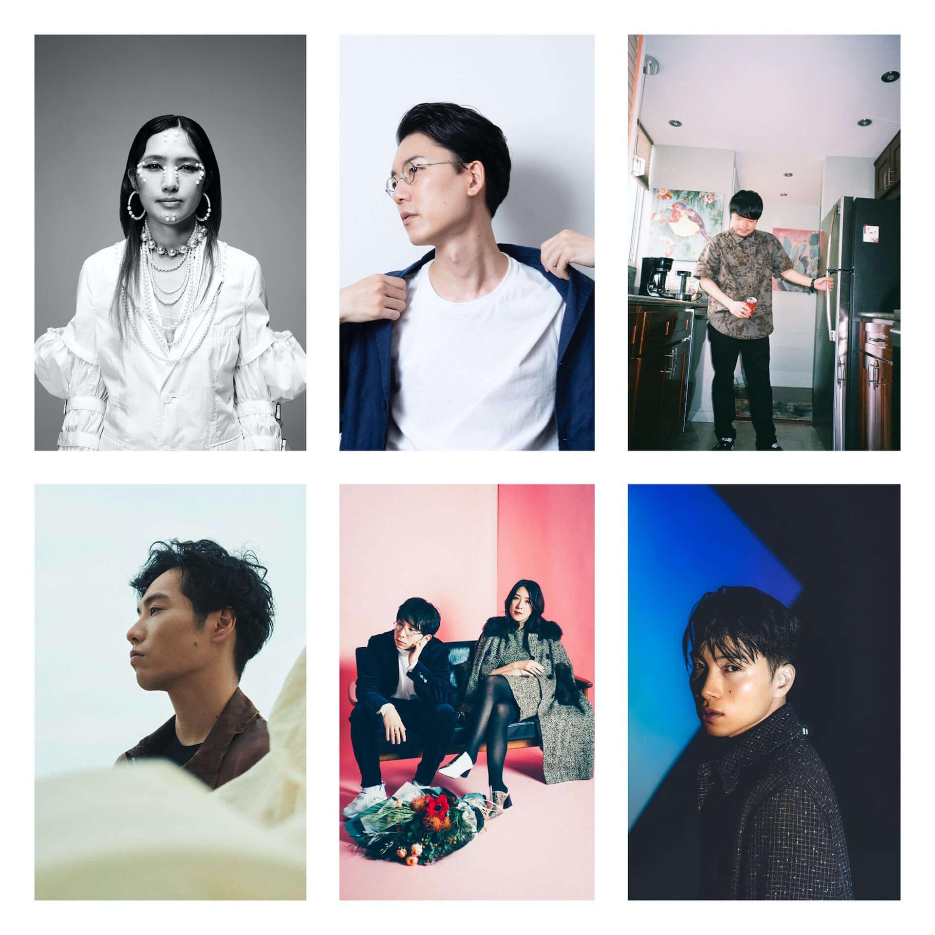 """Shin SakiuraがBASIを迎えた新曲""""komorebi""""をリリース!ワンマンライブにはSIRUP、AAAMYYY、Ryohu、maco maretsらが参加決定 music201021_shinsakiura_3-1920x1920"""