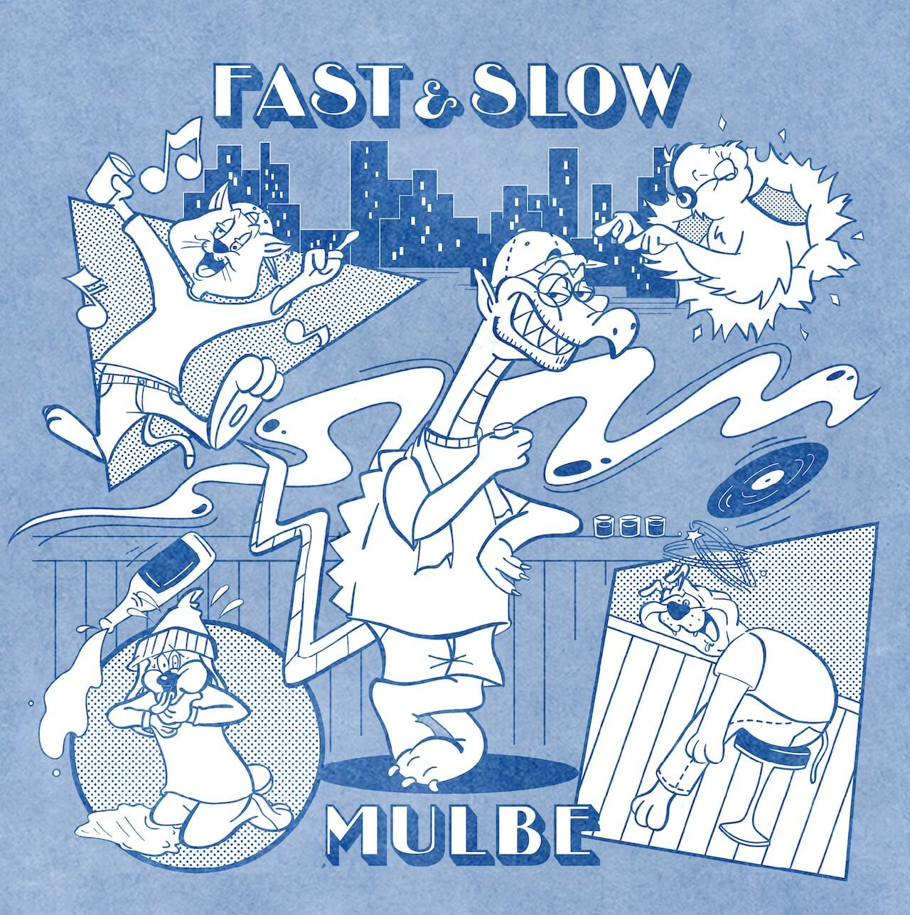 MULBEの1stフルアルバム『FAST&SLOW』のVINYL LISTENING SHOWが本日開催 music201021-mulbe-1