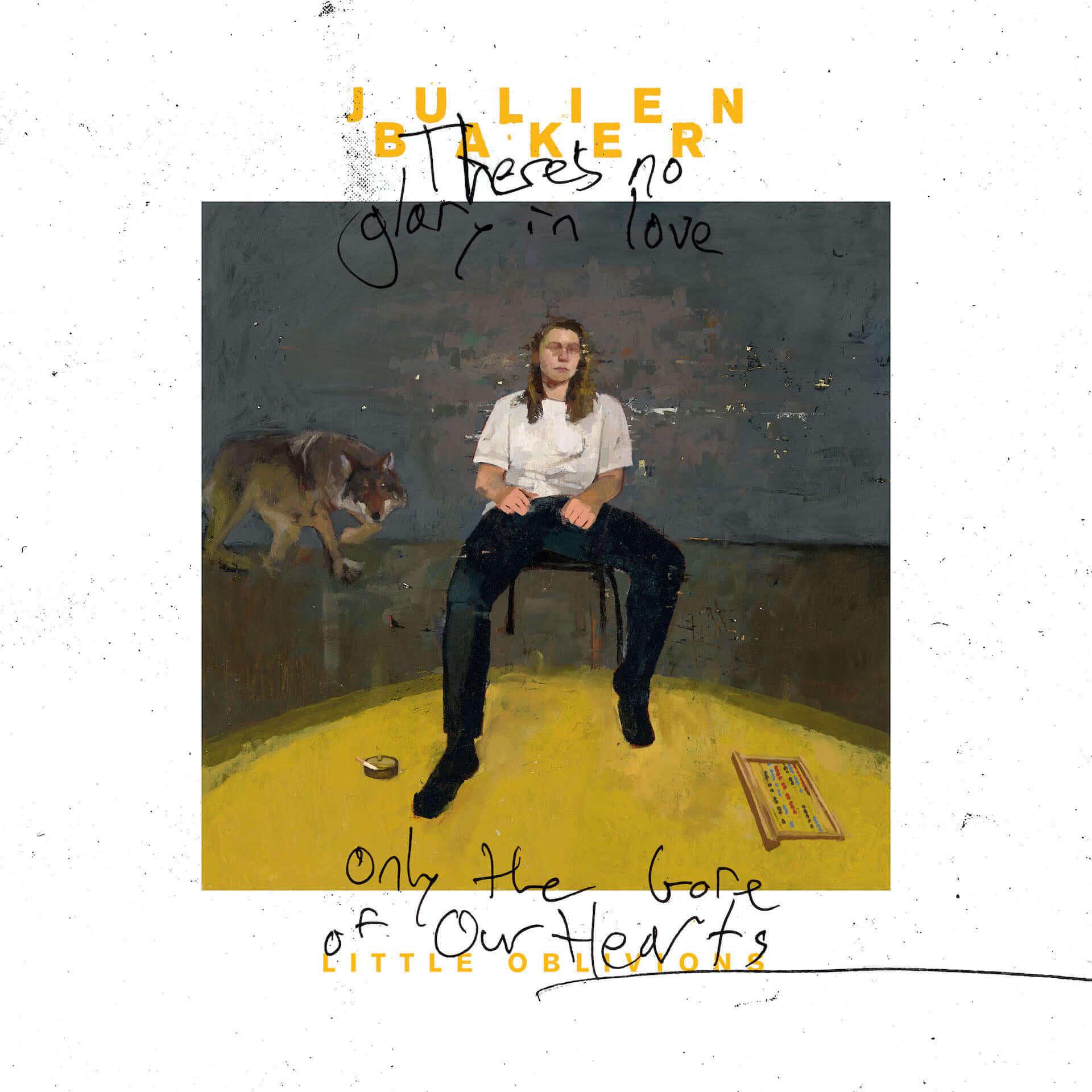 """Julien Bakerが4年ぶりのアルバム『Little Oblivions』をCD&レコードでリリース決定!新曲""""Faith Healer""""がMVと共に公開 music201022_julien-baker_2-1920x1920"""