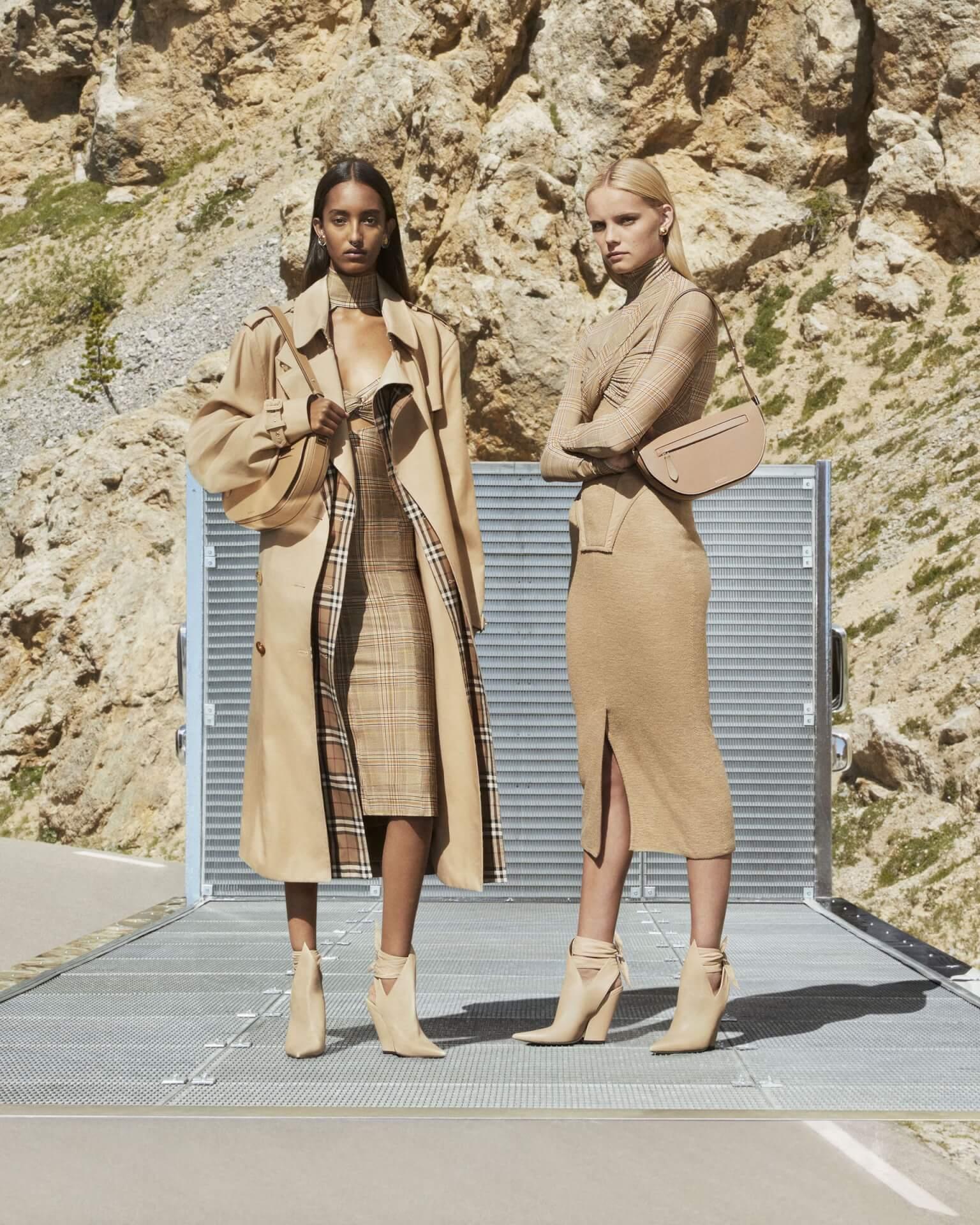 バーバリー2020年秋冬コレクションのキャンペーンが公開!マリアカルラ・ボスコーノやモナ・トゥガードらを起用 fashion2020924-Burberry1
