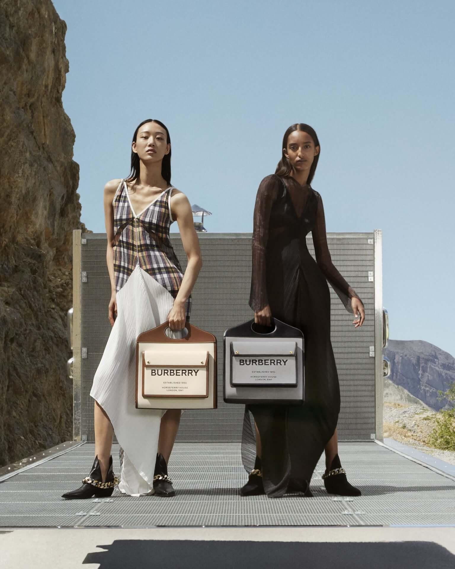バーバリー2020年秋冬コレクションのキャンペーンが公開!マリアカルラ・ボスコーノやモナ・トゥガードらを起用 fashion2020924-Burberry2