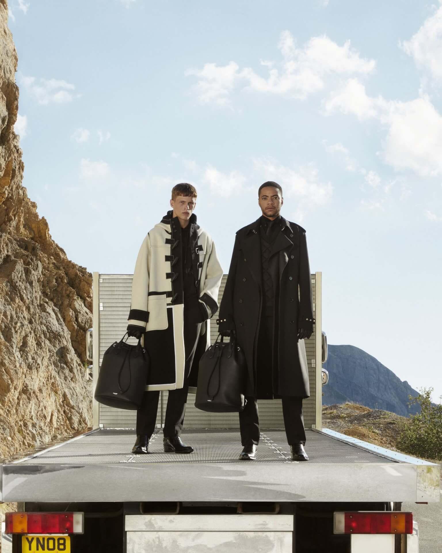 バーバリー2020年秋冬コレクションのキャンペーンが公開!マリアカルラ・ボスコーノやモナ・トゥガードらを起用 fashion2020924-Burberry4
