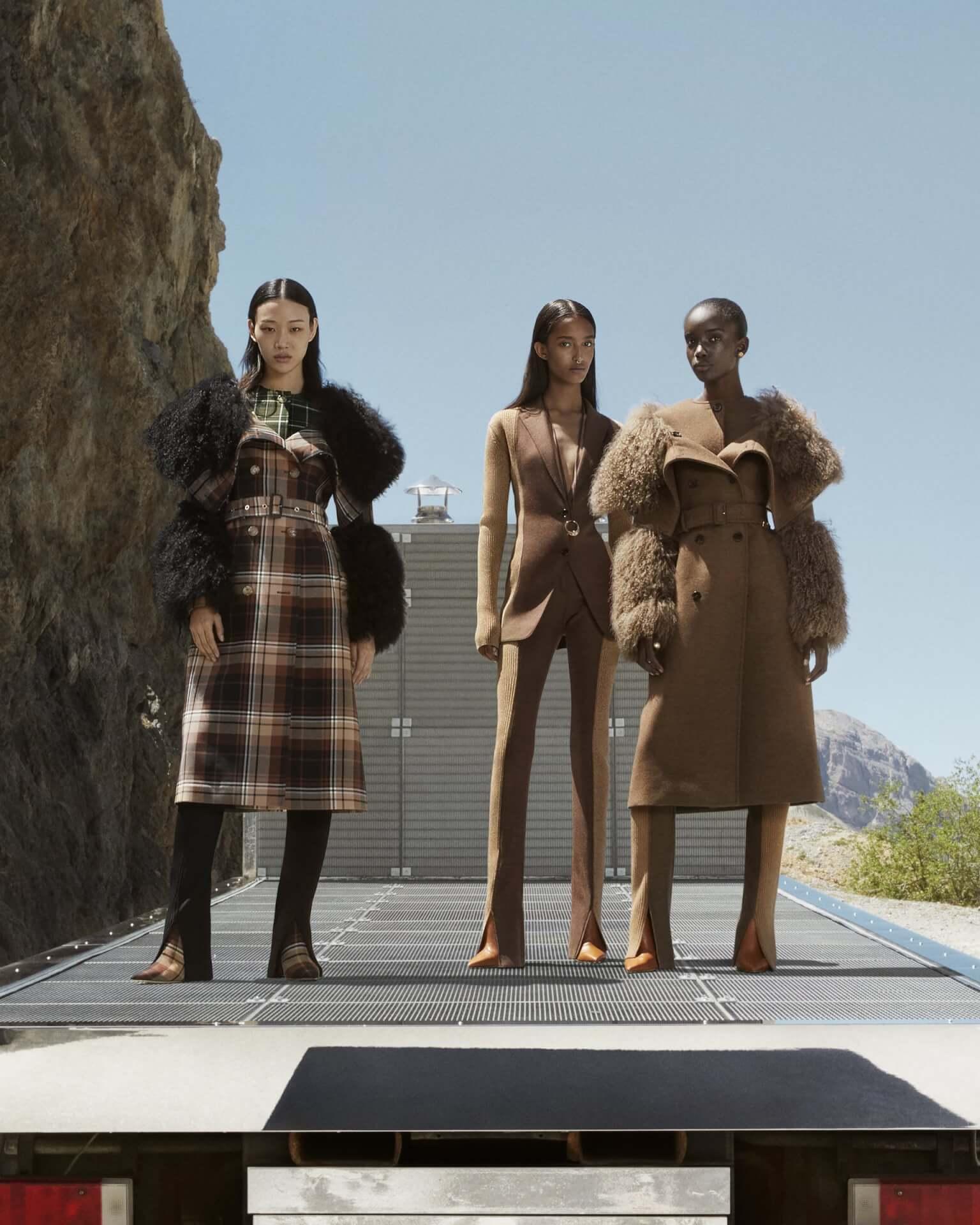 バーバリー2020年秋冬コレクションのキャンペーンが公開!マリアカルラ・ボスコーノやモナ・トゥガードらを起用 fashion2020924-Burberry5