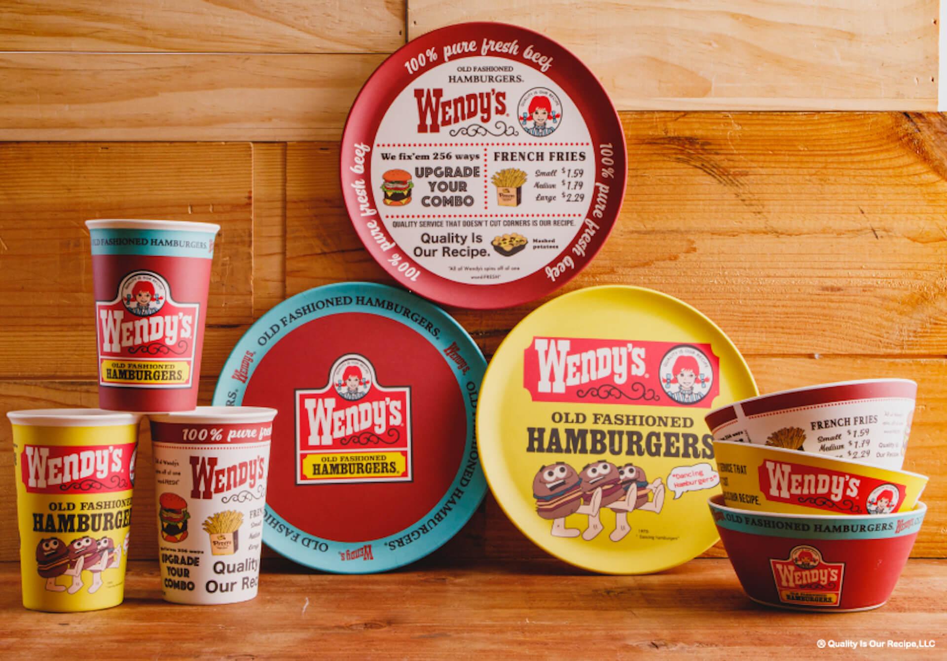 『212 KITCHEN STORE』から『Wendy's』とのコラボアイテムが登場!ロゴやマークをあしらったランチグッズなども販売 life2020925-wendys4