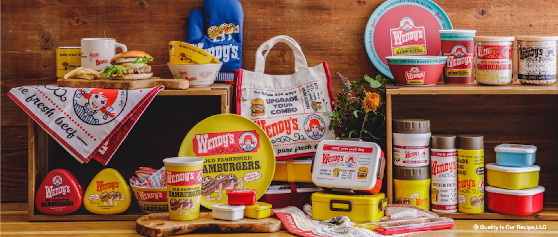 『212 KITCHEN STORE』から『Wendy's』とのコラボアイテムが登場!ロゴやマークをあしらったランチグッズなども販売 life2020925-wendys8
