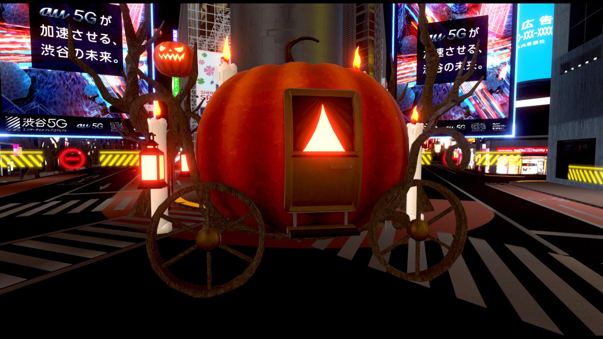 <バーチャル渋谷 au 5G ハロウィーンフェス>がついに本日開幕!最終日はEllen Allien、SURGEONら参加のDOMMUNEコラボイベントも実施 music201026_shibuya_halloween_17