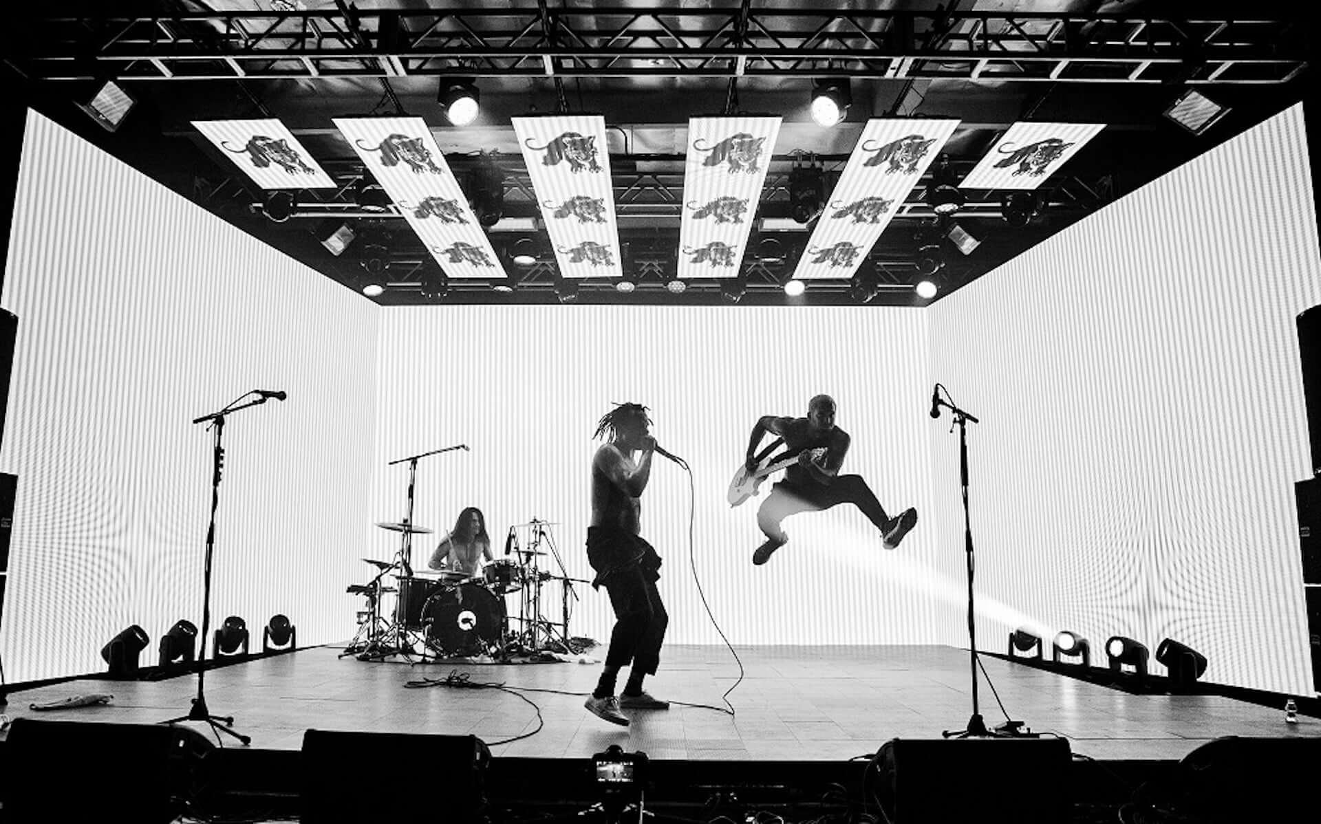 <FUJI ROCK FESTIVAL 2018>で初来日を果たしたFEVER 333が日本向けバーチャルライブツアーを明日開催!最新EPも配信中 music201026_fever333_6-1920x1198