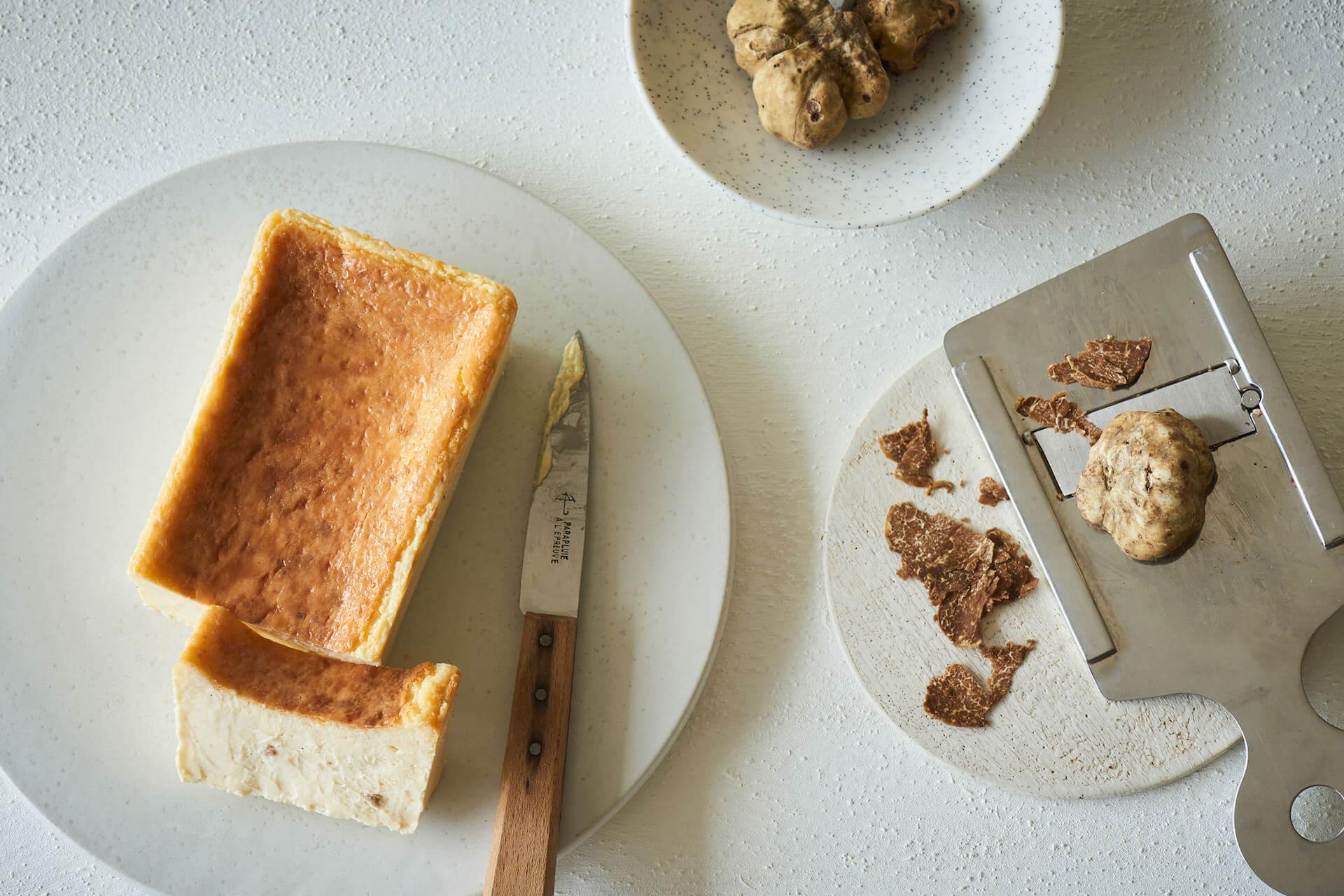 """売り切れ必至のMr. CHEESECAKE新商品が受注生産販売決定!高級食材""""白トリュフ""""を使った高価なチーズケーキ gourmet201027_mrcheesecake_6"""