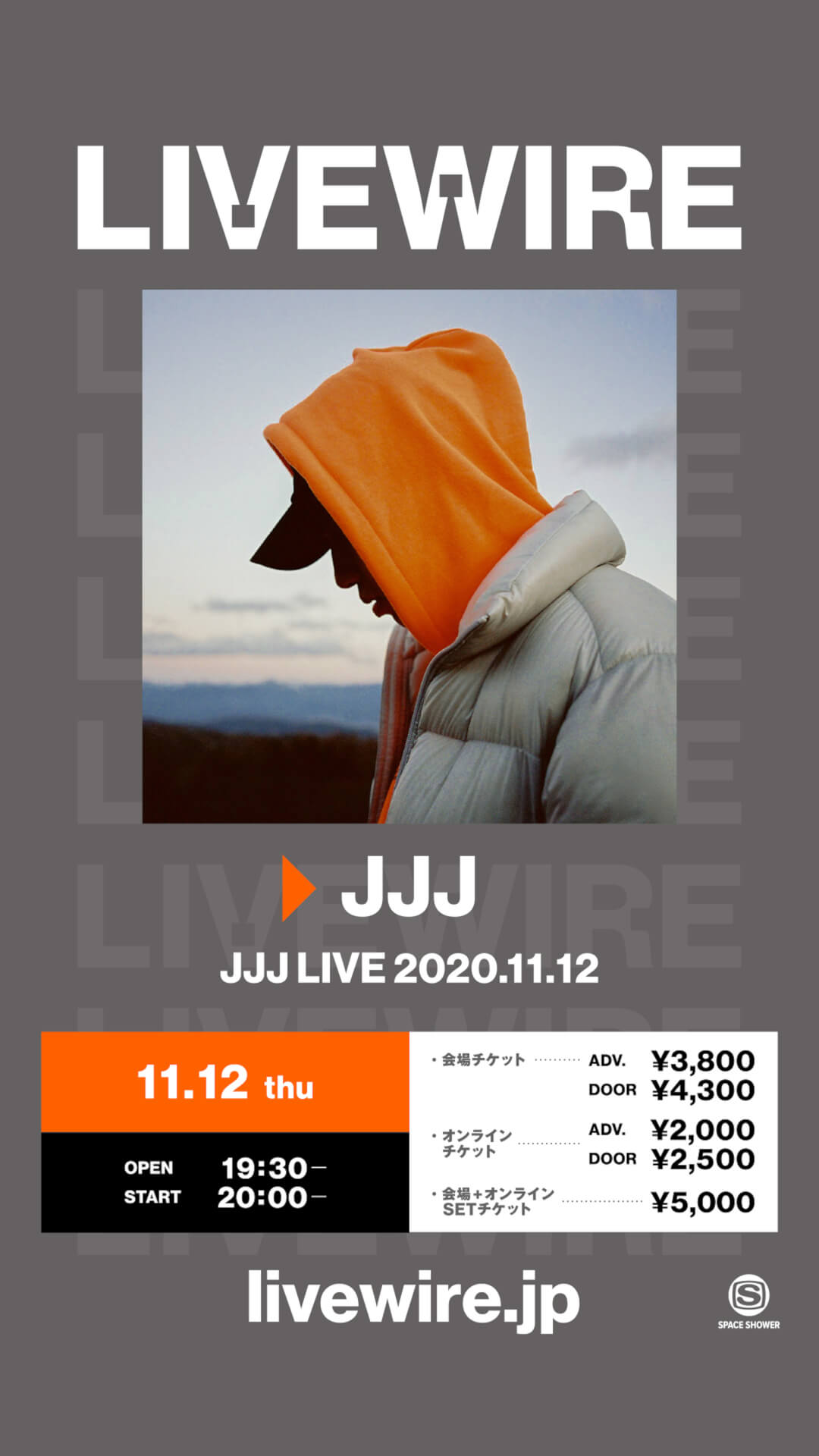 JJJによる3年ぶりのワンマンライブが恵比寿LIQUIDROOMで開催決定!LIVEWIREにて生配信も music201027_jjj_live_1