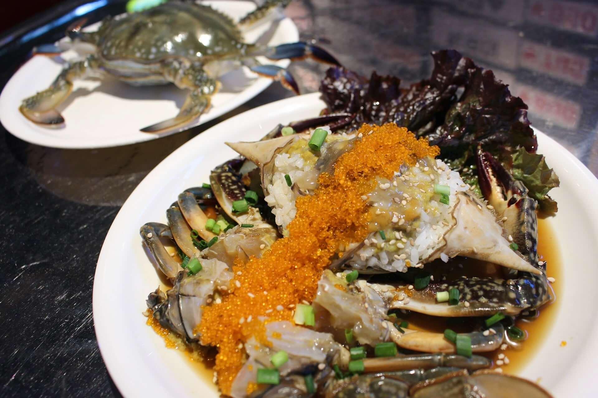 北海道産のワタリガニを使用した『生カンジャンケジャン』が「韓国食堂ケグリ」に登場!1日10食限定で販売開始 gourmet201029_kankokushokudou-keguri_4-1920x1280