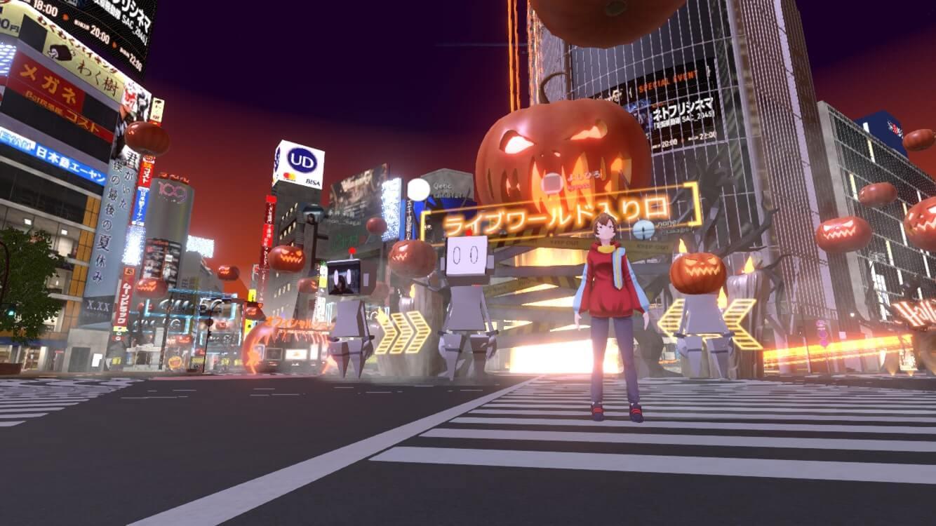今年の渋谷ハロウィーンは #StayVirtual !?バーチャル渋谷 au 5G ハロウィーンフェス体験記 tech1030_shibuya-halloween_01