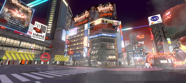 今年の渋谷ハロウィーンは #StayVirtual !?バーチャル渋谷 au 5G ハロウィーンフェス体験記 tech1030_shibuya-halloween_03-1440x648