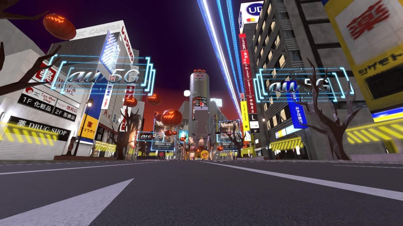 今年の渋谷ハロウィーンは #StayVirtual !?バーチャル渋谷 au 5G ハロウィーンフェス体験記 tech1030_shibuya-halloween_05