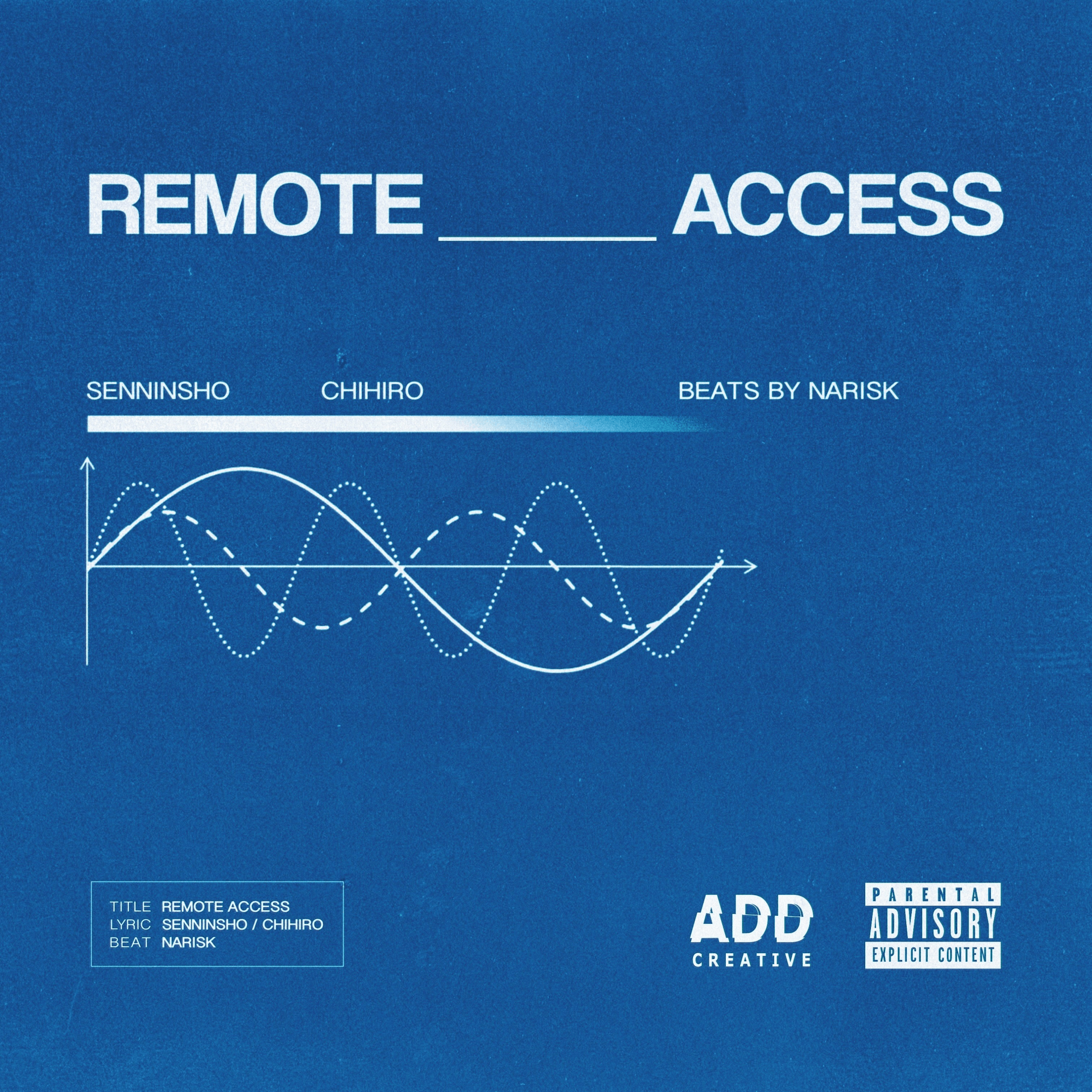 "ADD CREATIVEが仙人掌&智大とタッグを組んだ新曲""REMOTE ACCESS""をリリース!YouTubeにてオフィシャルオーディオも公開 music20201030-sennninsho_chihiro"