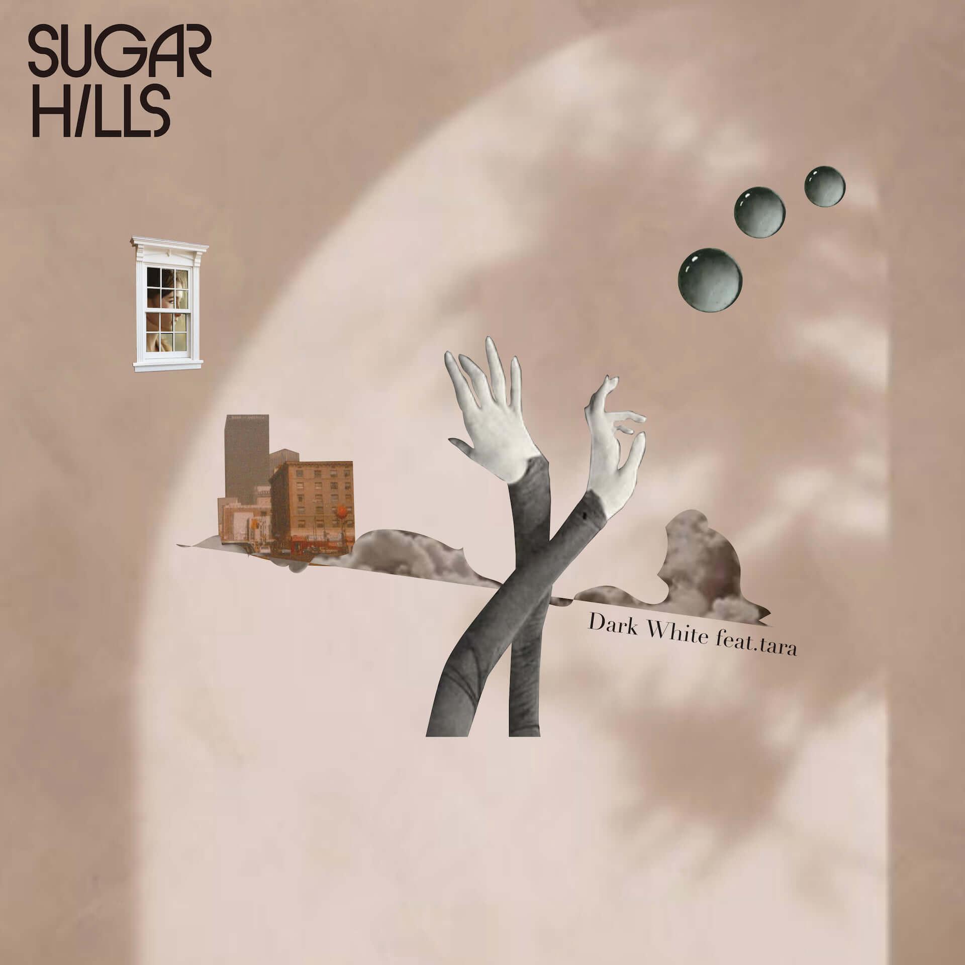 """伊藤修平の新プロジェクト・SUGAR HILLSが新曲""""Dark White""""をリリース!モデル・taraをフィーチャー music201030_sugar-hills_3-1920x1920"""