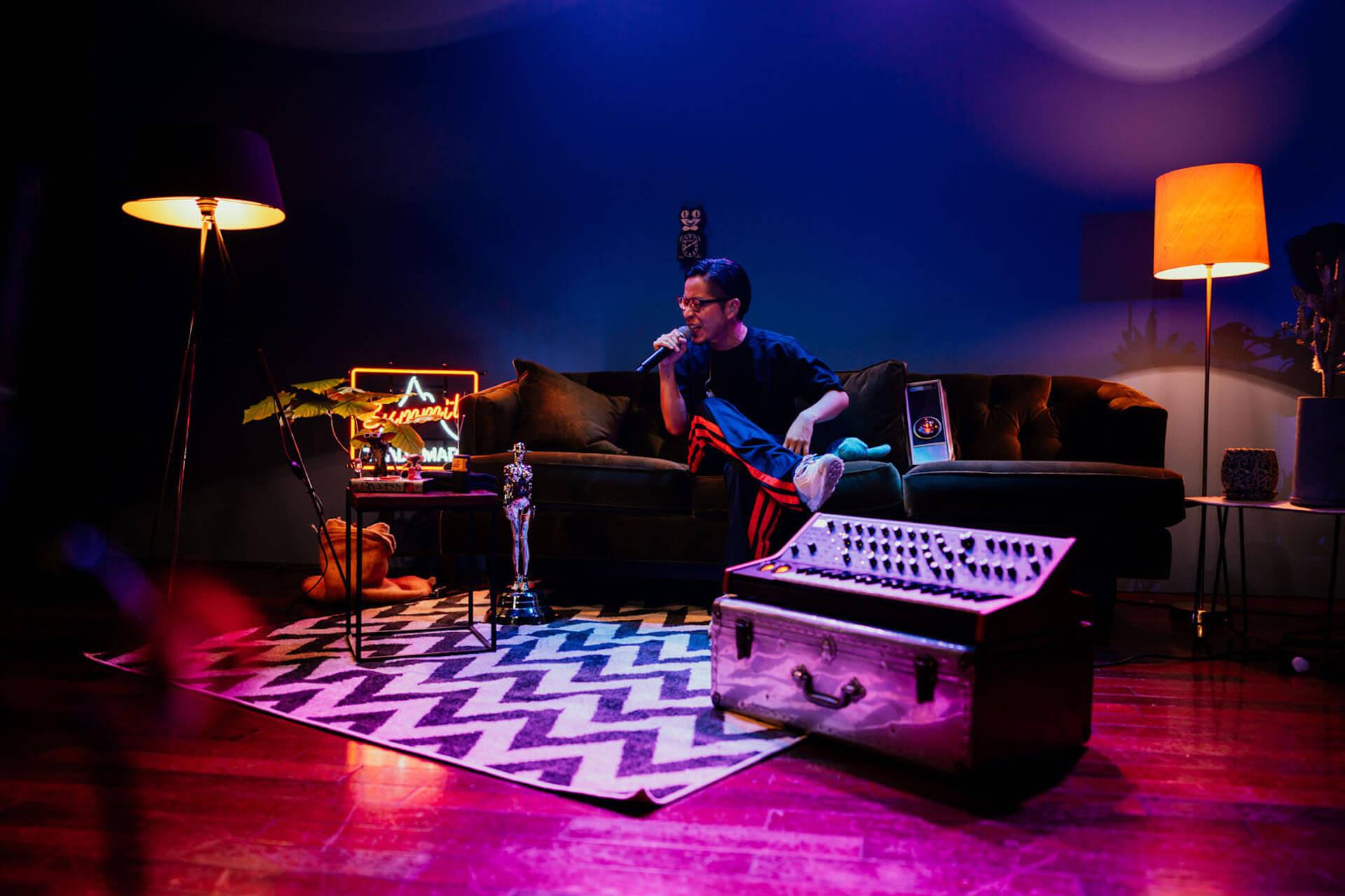 PUNPEEが生配信ライブ<PUNPEE Sofa Kingdomcom>を徹底解説!スペースシャワーTVにてディテールを語るトーク番組が放送決定 music201102_punpee_live_5