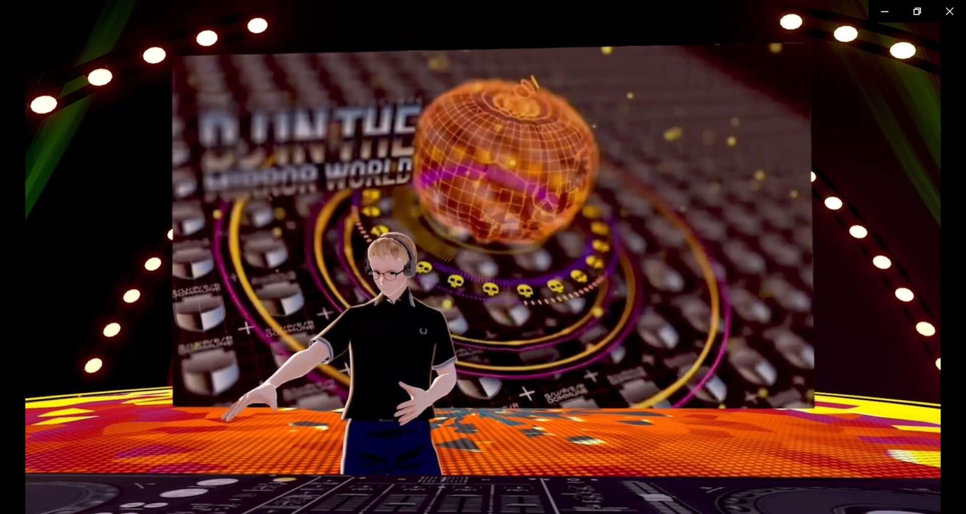 バーチャル渋谷にSUPER DOMMUNEが出現!Ellen Allien、KEN ISHIIらが出演した<DJ IN THE MIRROR WORLD>のレポートが到着 art201104_shibuya5g-halloweenfes_24-1920x1023