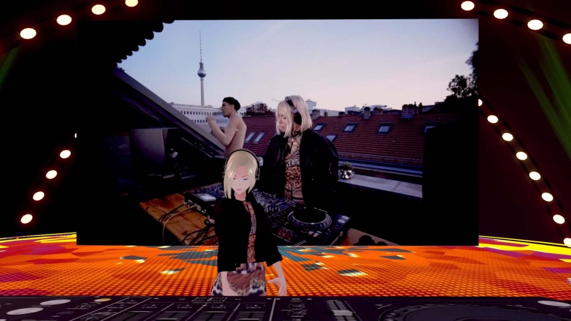 バーチャル渋谷にSUPER DOMMUNEが出現!Ellen Allien、KEN ISHIIらが出演した<DJ IN THE MIRROR WORLD>のレポートが到着 art201104_shibuya5g-halloweenfes_27-1920x1079