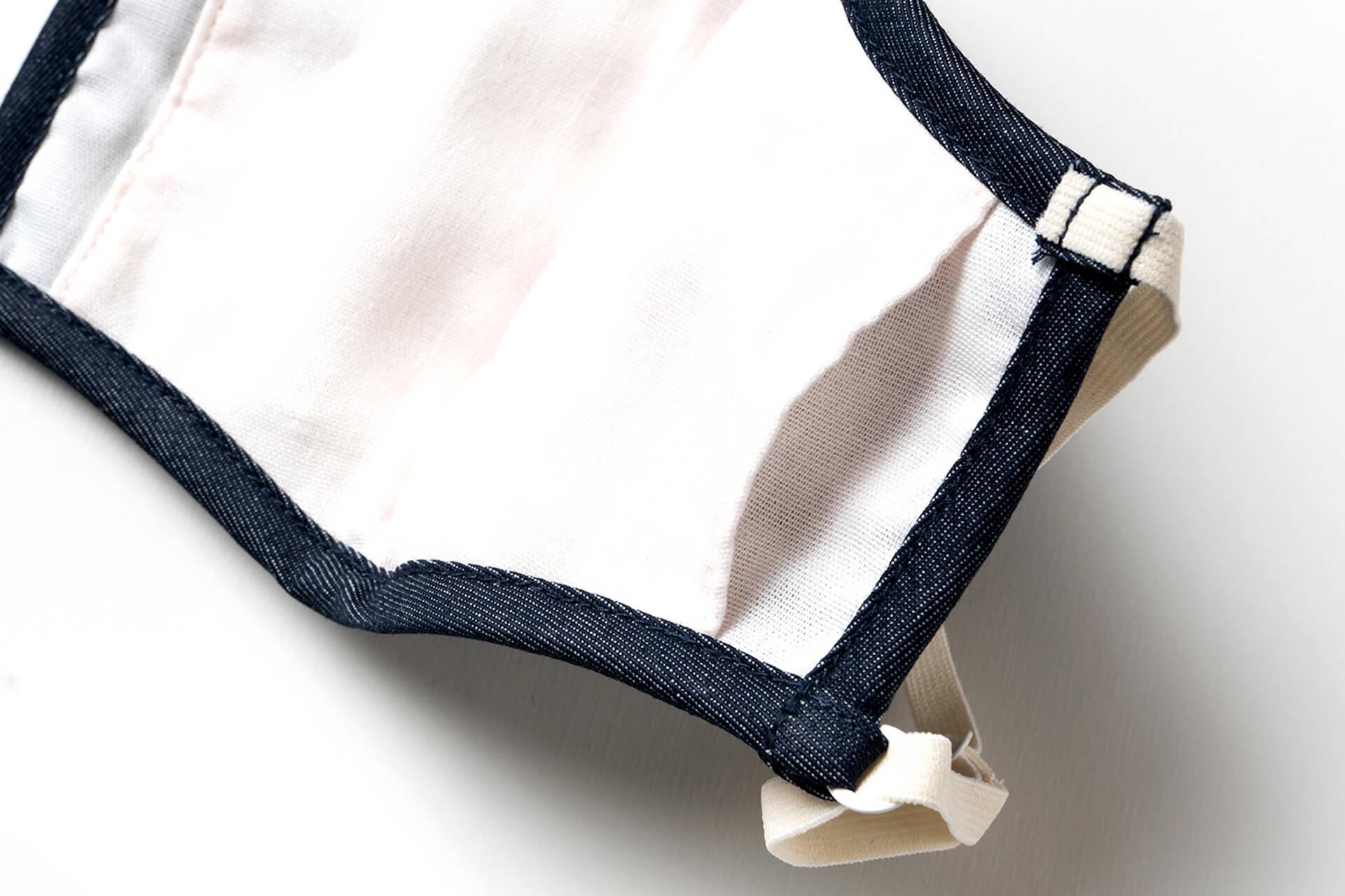 デニムブランド・ビッグジョンから抗ウイルス性のフィルターポケット付きマスク『Washable Mask』が登場! fashion2020106_bigjhon_2