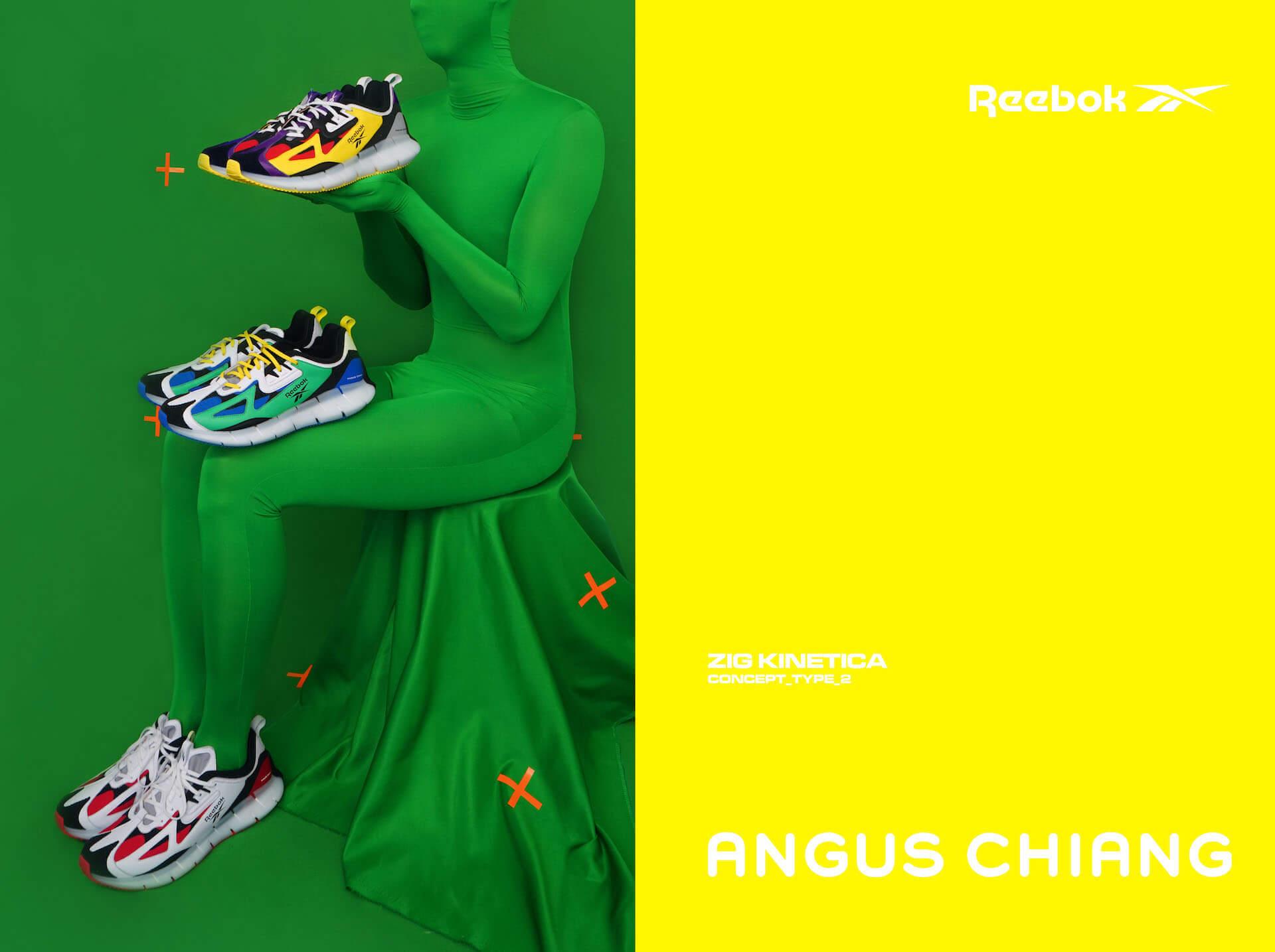 リーボックからアンガス・ジャンとのコラボシューズ『ANGUS CHIANG×ZIG KINETICA CONCEPT_TYPE_2』が登場!ポップで大胆なカラーリングに fashion2020106_reebok_7