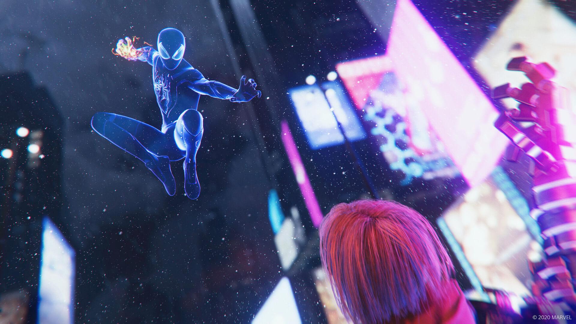 『スパイダーマン』のマイルズ・モラレスとなってNYの街を守り抜け!『Marvel's Spider-Man: Miles Morales』が来週ついに発売 tech201106_spiderman_ps5_1-1