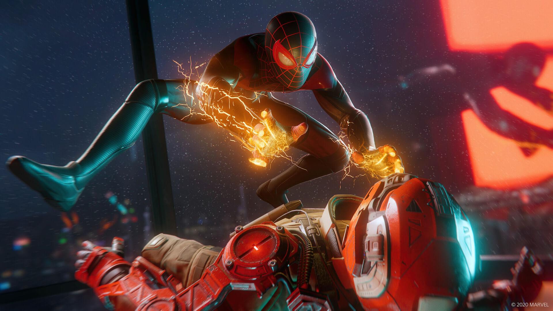 『スパイダーマン』のマイルズ・モラレスとなってNYの街を守り抜け!『Marvel's Spider-Man: Miles Morales』が来週ついに発売 tech201106_spiderman_ps5_2-1