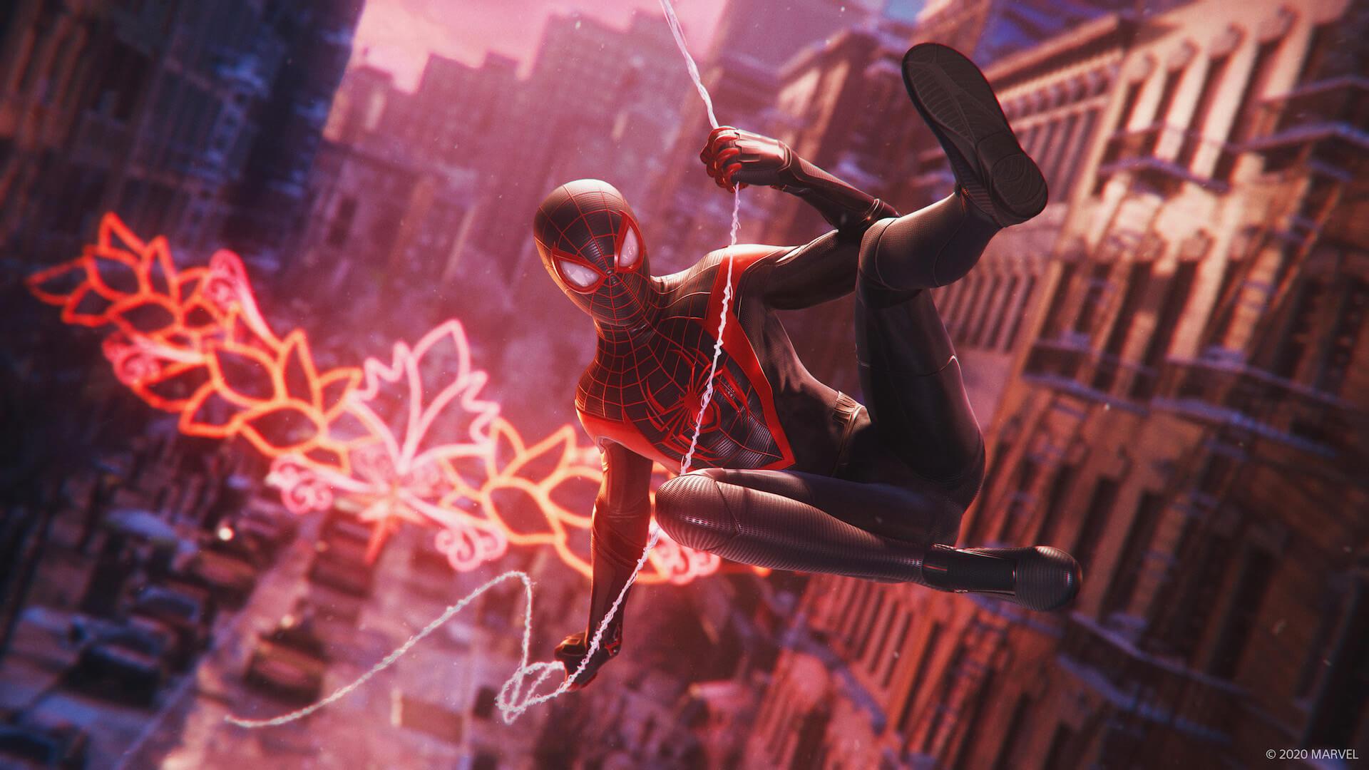 『スパイダーマン』のマイルズ・モラレスとなってNYの街を守り抜け!『Marvel's Spider-Man: Miles Morales』が来週ついに発売 tech201106_spiderman_ps5_3-1