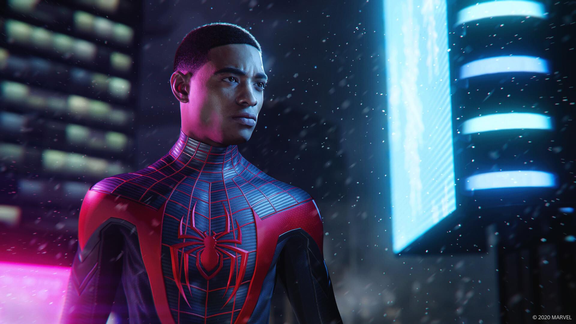 『スパイダーマン』のマイルズ・モラレスとなってNYの街を守り抜け!『Marvel's Spider-Man: Miles Morales』が来週ついに発売 tech201106_spiderman_ps5_4-1