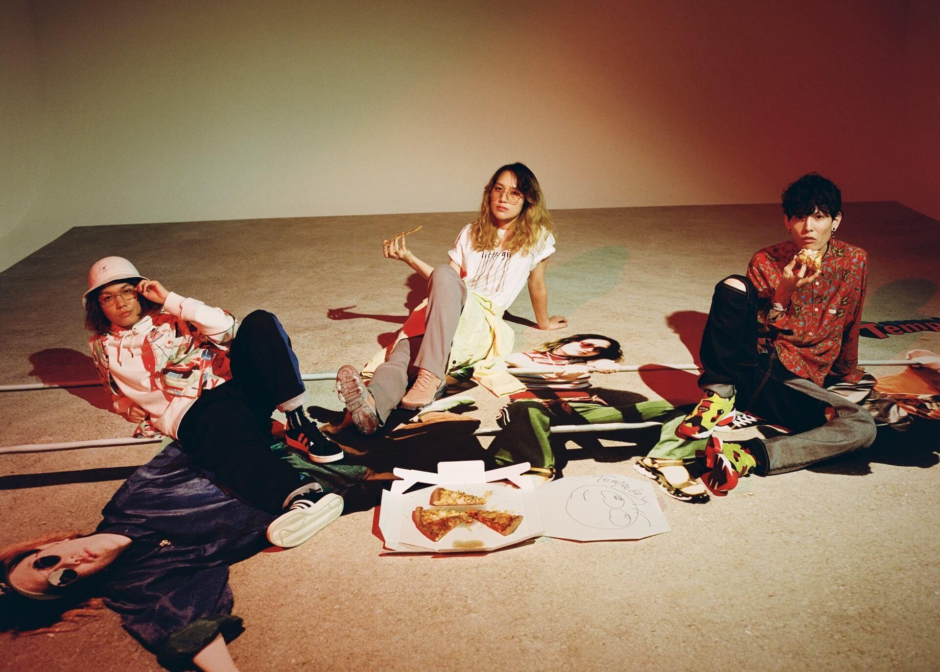 Tempalay「ちゅどーん」──LIQUIDROOMのコラボTプロジェクト〈We will meet again〉より新作登場 music201106-liquidroom-tempalay