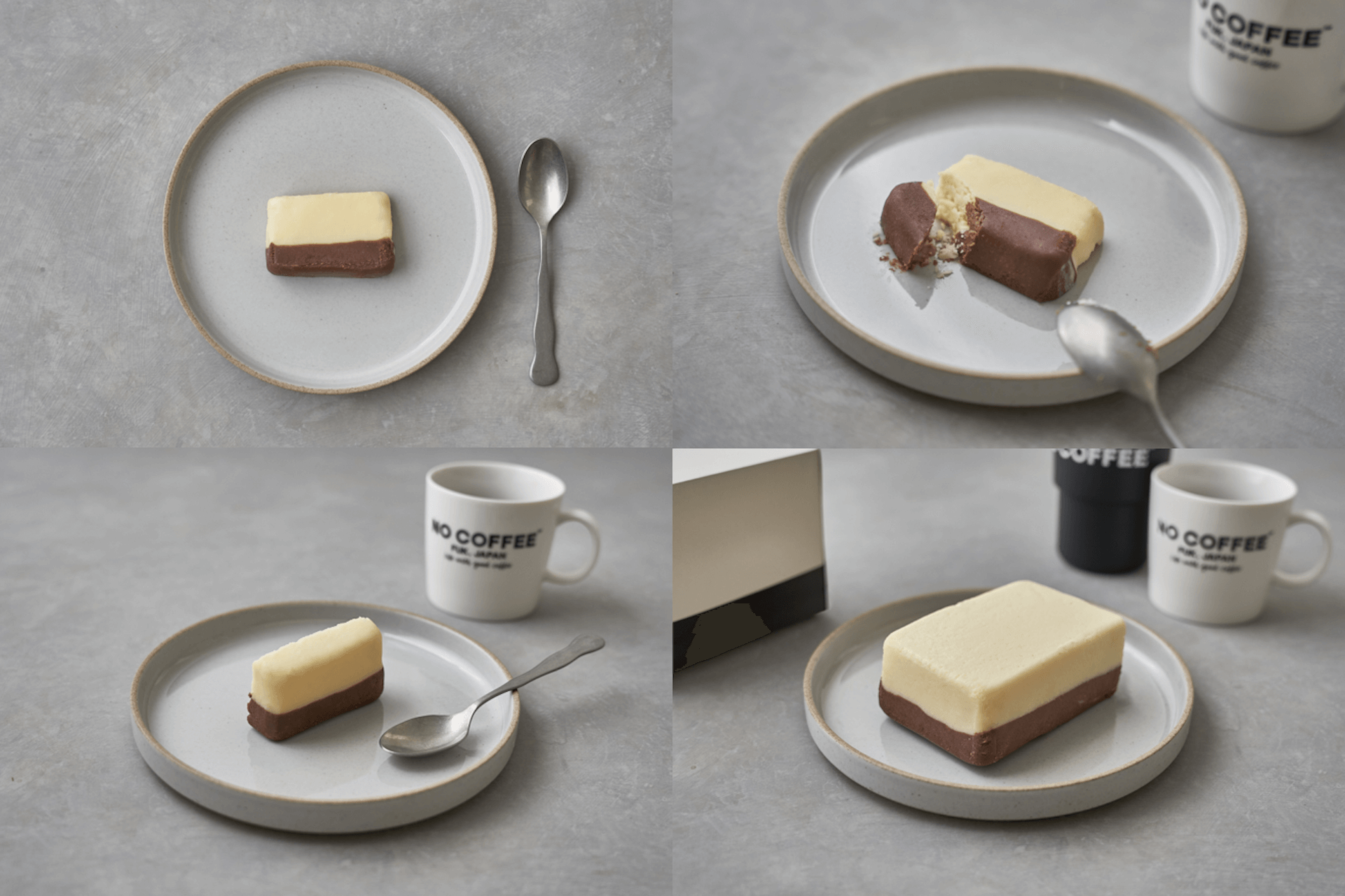 濃厚なチーズとチョコのバイカラーケーキ!NO COFFEEと旅するチーズケーキのコラボスイーツ『NO CHEESECAKE』が発売決定 gourmet2020108_nocheesecake_6