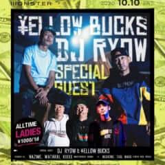 DJ RYOW × ¥ELLOW BUCKS