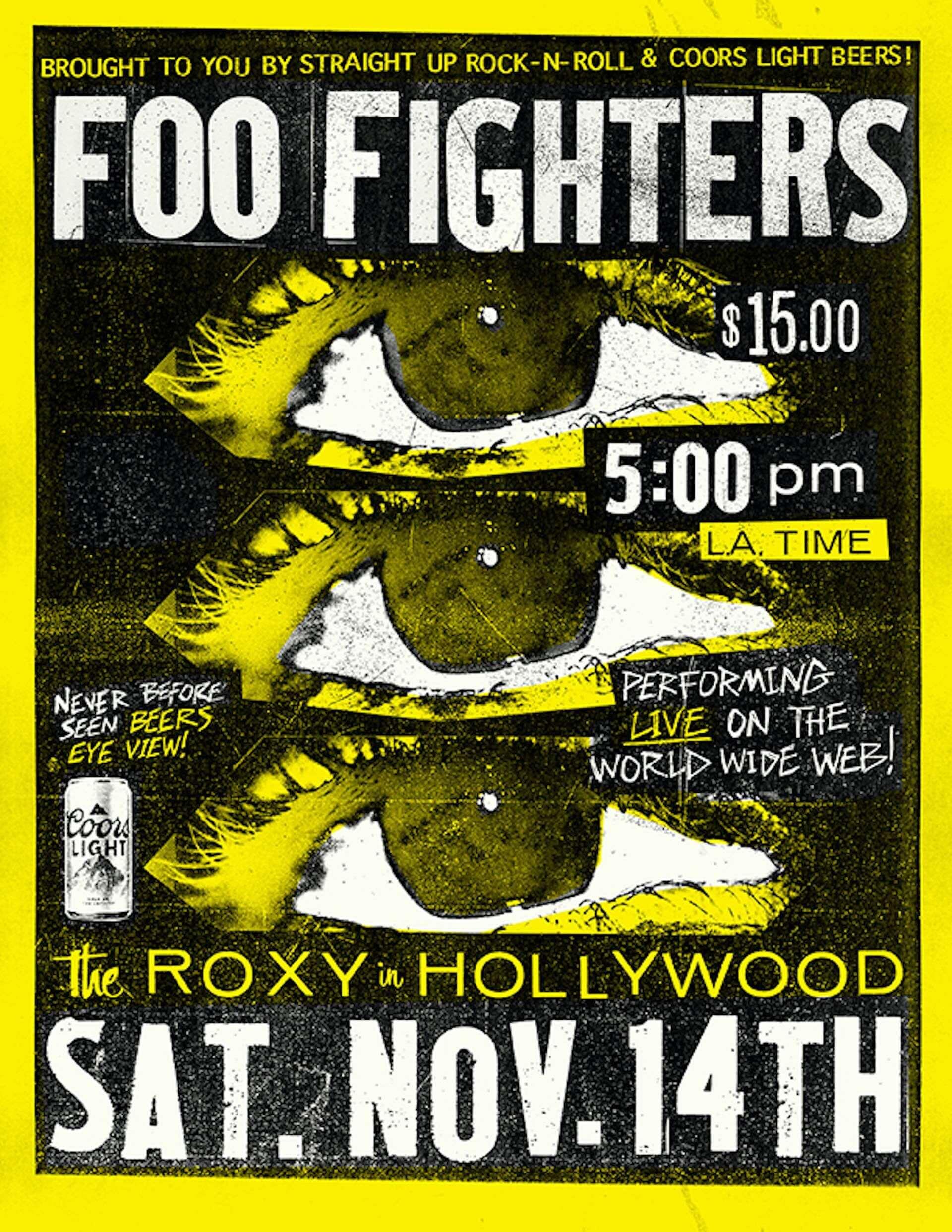 """Foo Fightersが名門ライブハウス「ロキシーシアター」よりオンラインライブを開催決定!新曲""""Shame Shame""""のMVも解禁 music201111_foofighters_1-1920x2485"""