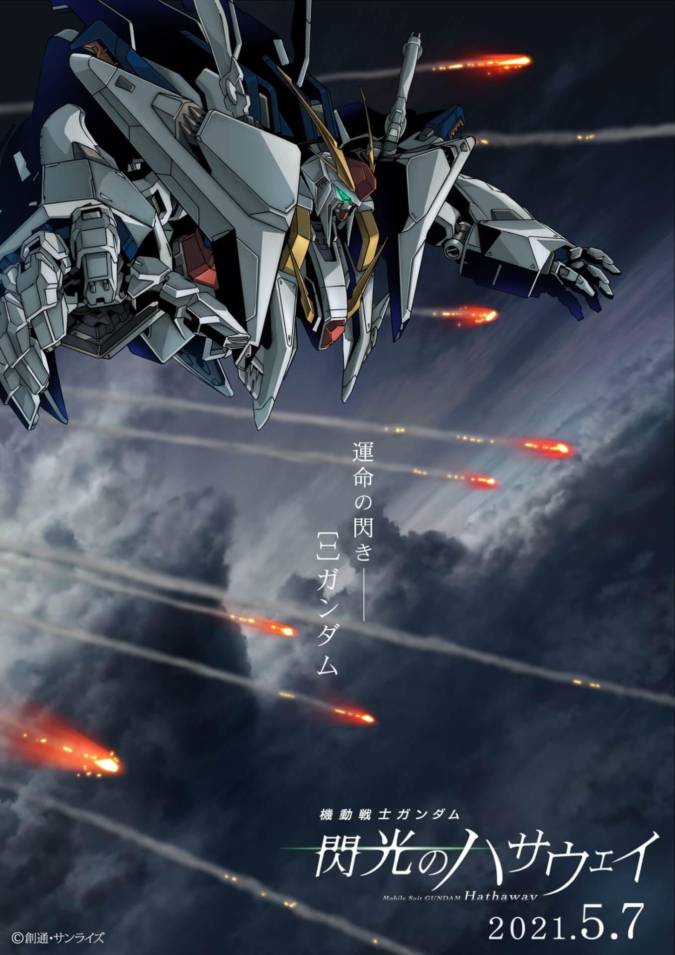 『機動戦士ガンダム 閃光のハサウェイ』公開日がついに決定!ハサウェイ搭乗機クスィーガンダムの新規ビジュアル&新規PVも解禁 film201112_gundam_hathaway_24