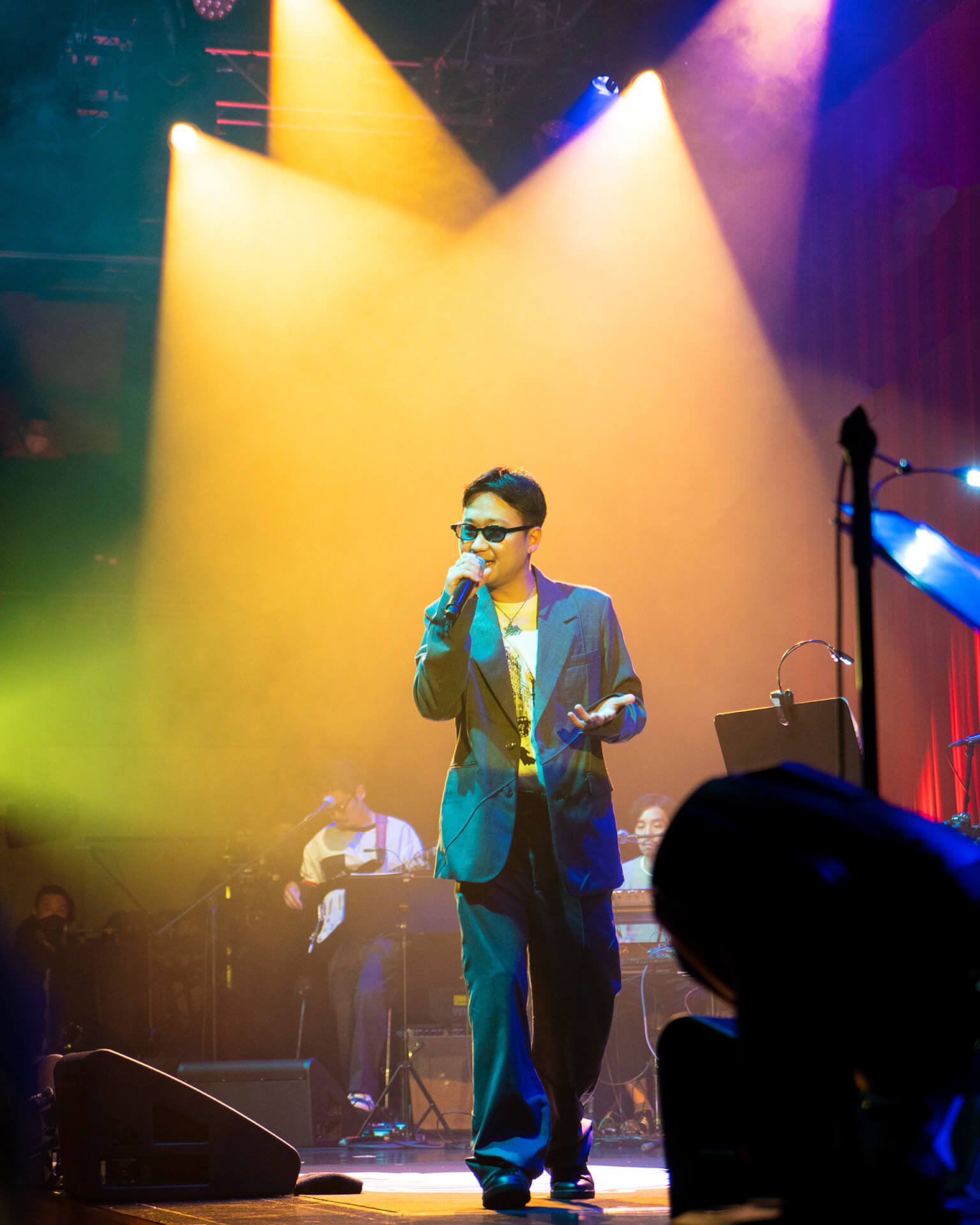 BIM初のビルボードライブ公演のライブレポートが到着!バンドセットでPUNPEE、kZm、STUTSらと共演 music201112_bim_live_16