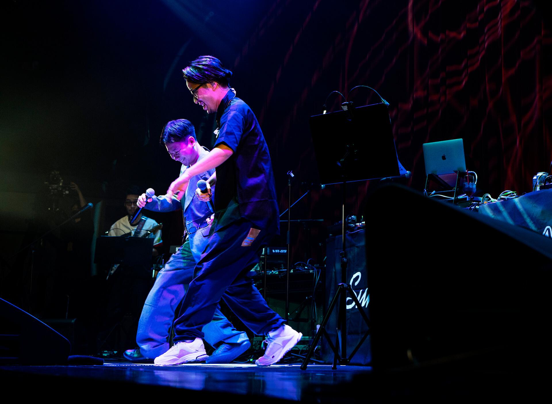 BIM初のビルボードライブ公演のライブレポートが到着!バンドセットでPUNPEE、kZm、STUTSらと共演 music201112_bim_live_12