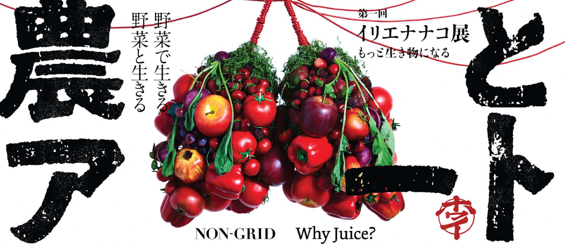 野菜・果物の魅力を発信する<農とアート展>が下北沢BONUS TRACKで開催決定!イリエナナコの作品も展示 art201113_no-to-art_2-1920x842