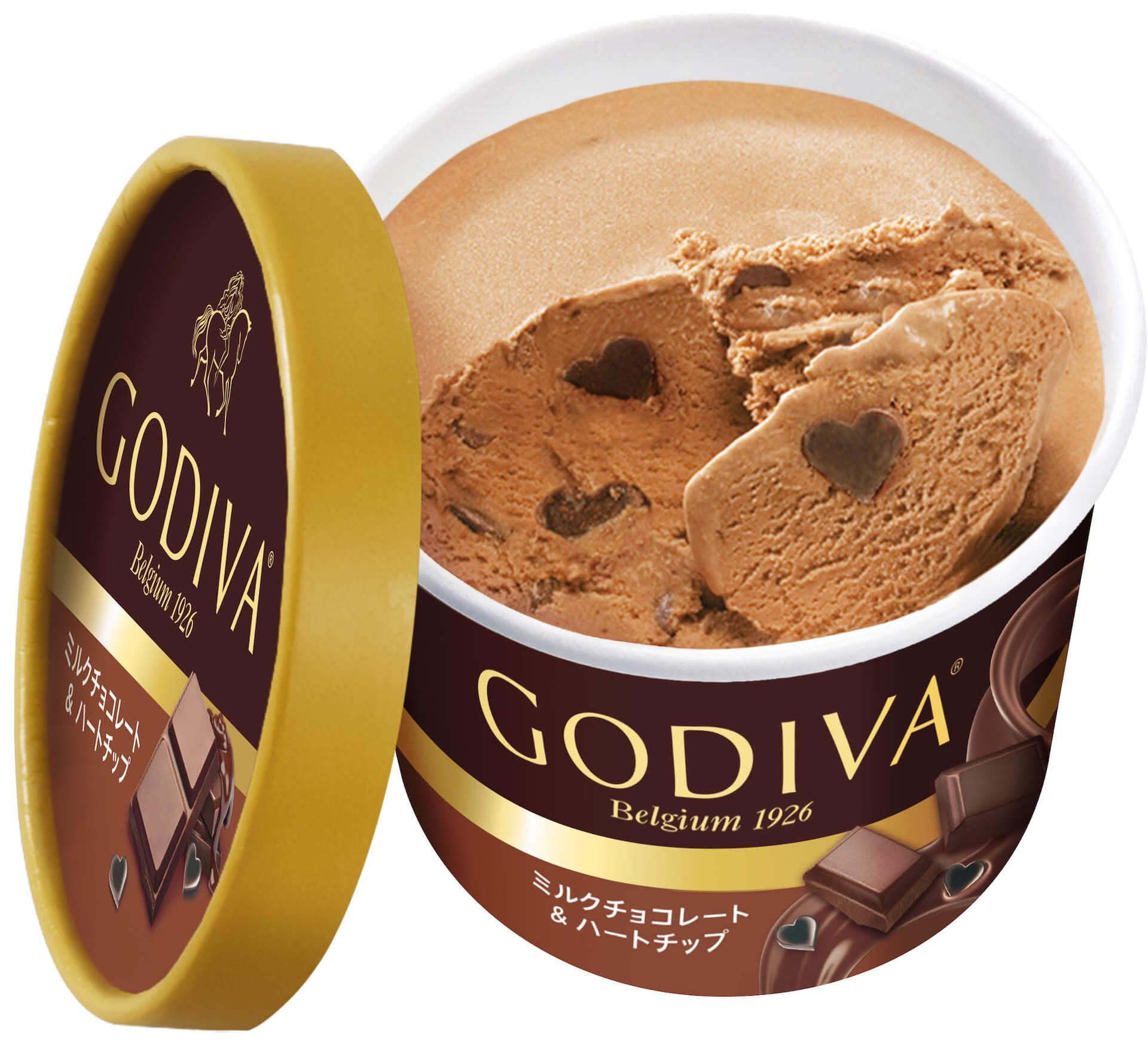 おうちで気軽にゴディバのチョコレートが楽しめる!ゴディバ『カップアイス』から新たなフレーバー5種類が登場 gourmet20201019_godiva_2