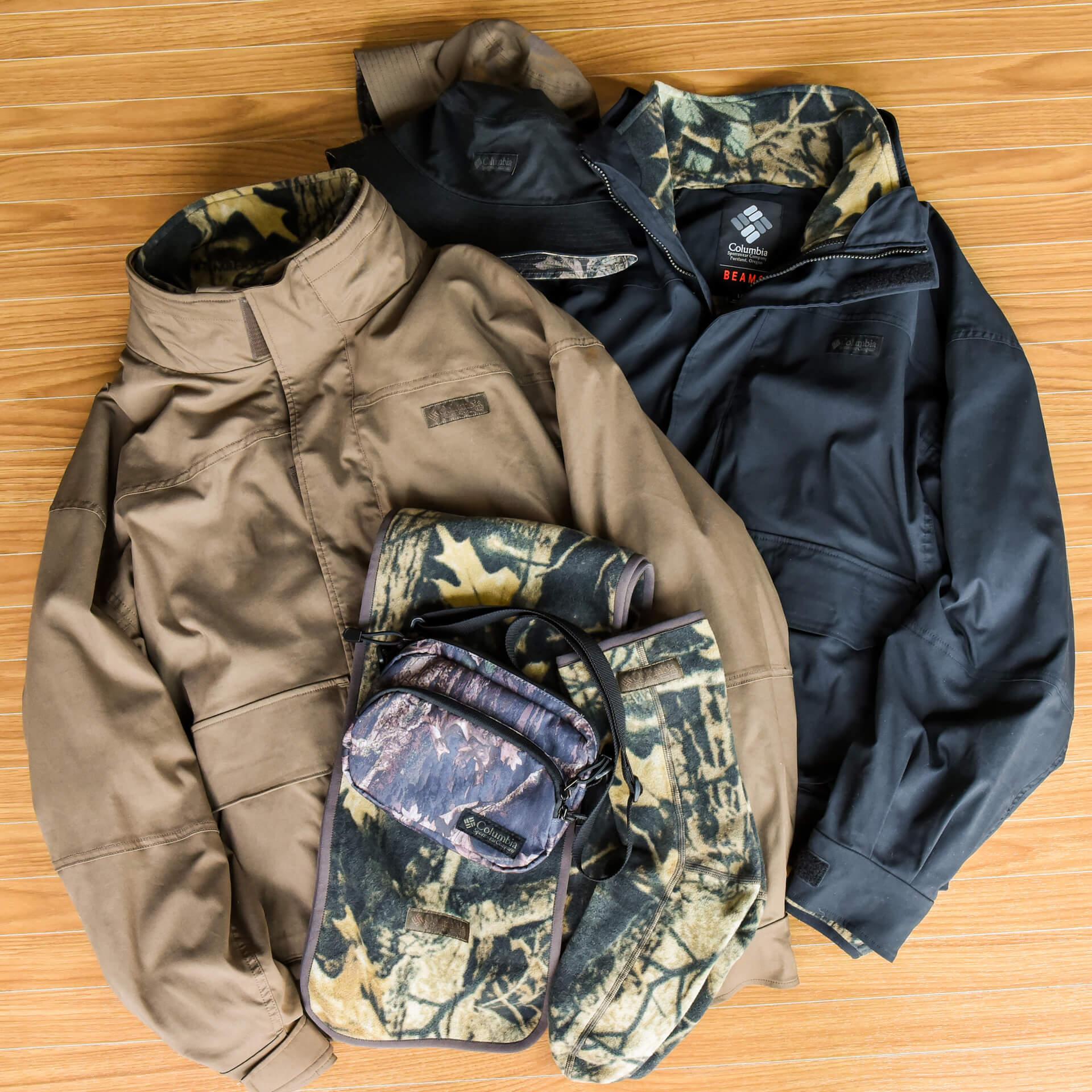 BEAMSとColumbiaのコラボコレクション『Columbia National Park』が登場!全アイテムに施されたカモフラージュ柄が特徴 fashion20201019_beams_columbia_2