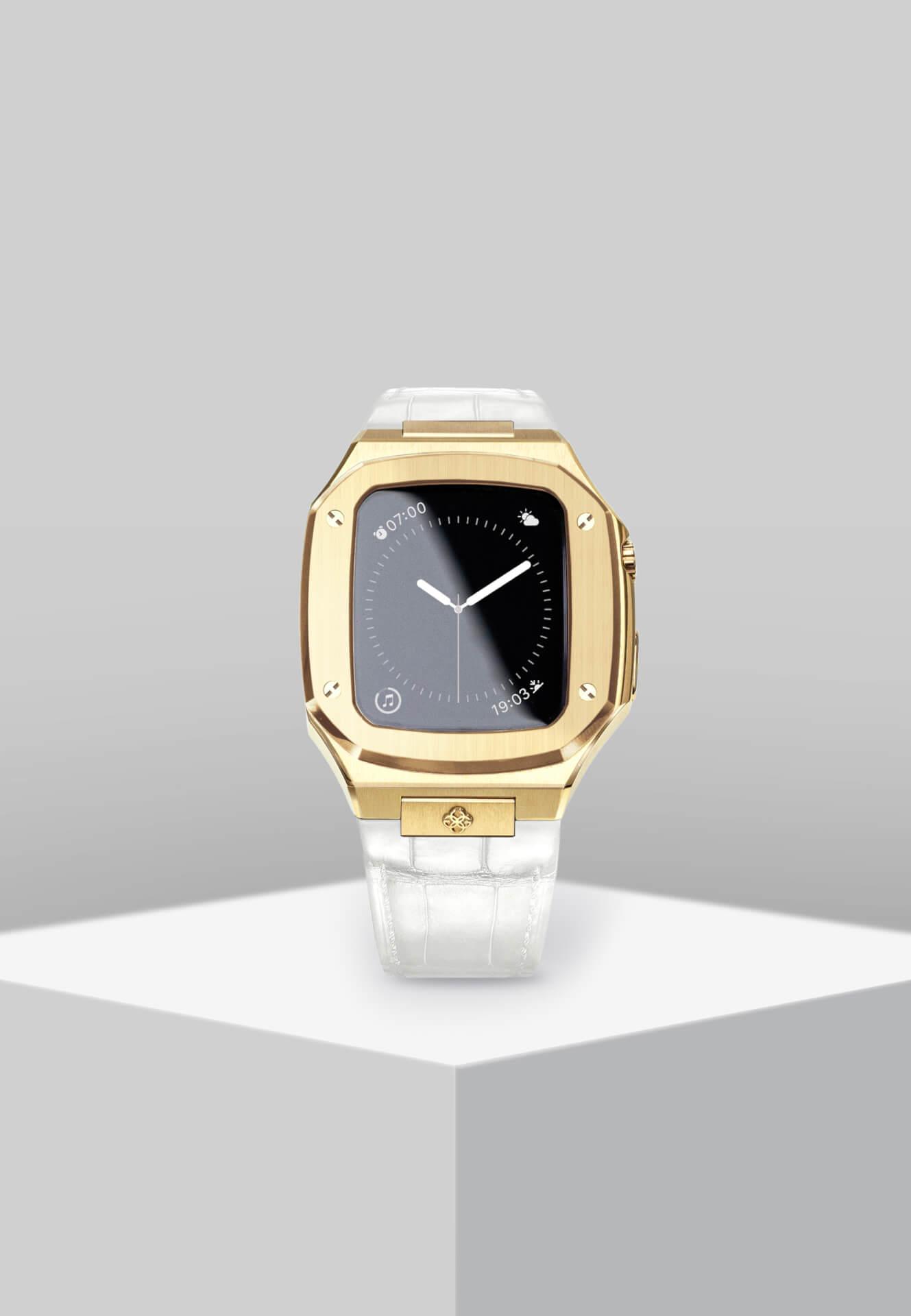 高級感漂うGOLDEN CONCEPTのApple Watchケースに待望の40mm用新コレクションが登場!ホワイト、イエローなどの新カラーがラインナップ tech201124_applewatch_case_1