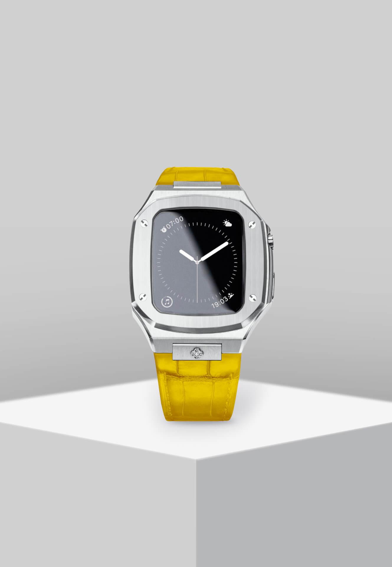 高級感漂うGOLDEN CONCEPTのApple Watchケースに待望の40mm用新コレクションが登場!ホワイト、イエローなどの新カラーがラインナップ tech201124_applewatch_case_6