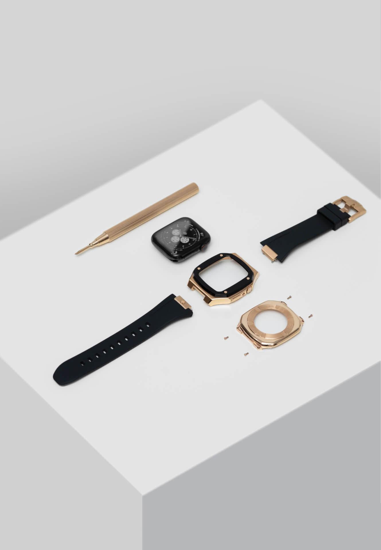 高級感漂うGOLDEN CONCEPTのApple Watchケースに待望の40mm用新コレクションが登場!ホワイト、イエローなどの新カラーがラインナップ tech201124_applewatch_case_11