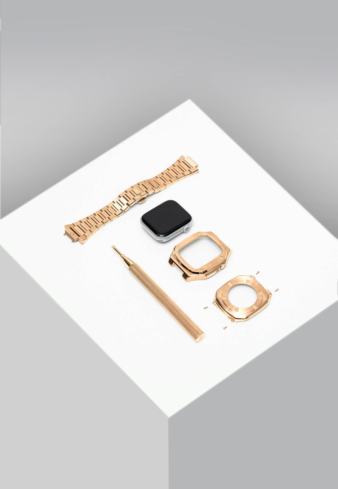 高級感漂うGOLDEN CONCEPTのApple Watchケースに待望の40mm用新コレクションが登場!ホワイト、イエローなどの新カラーがラインナップ tech201124_applewatch_case_12