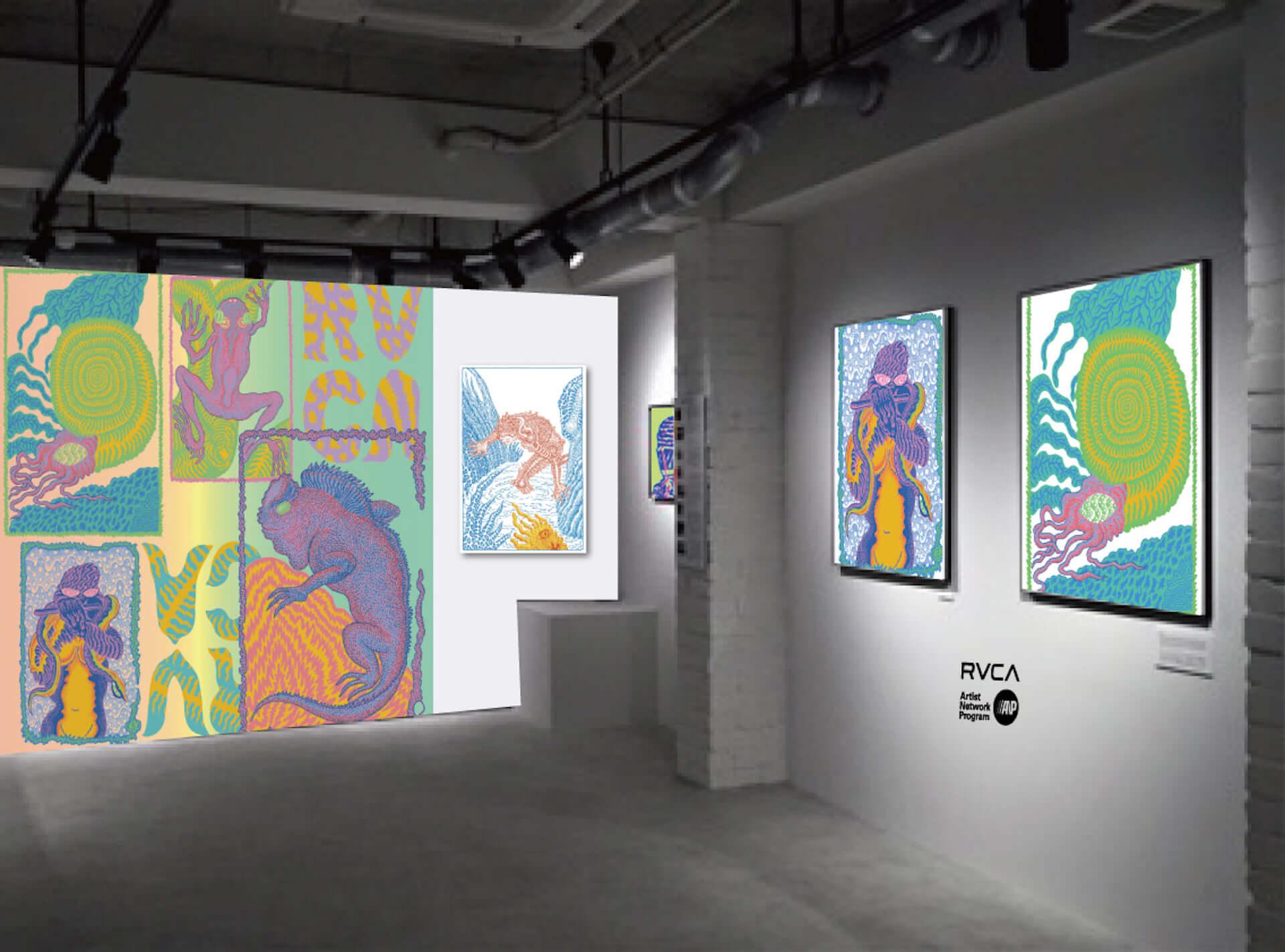 TETSUNORI TAWARAYAのアート展が「RVCA STORE SHIBUYA Gallery」にて開催決定!アーカイブ作品など期間限定で展示 art201125_tetsunori-tawaraya_4-1920x1423
