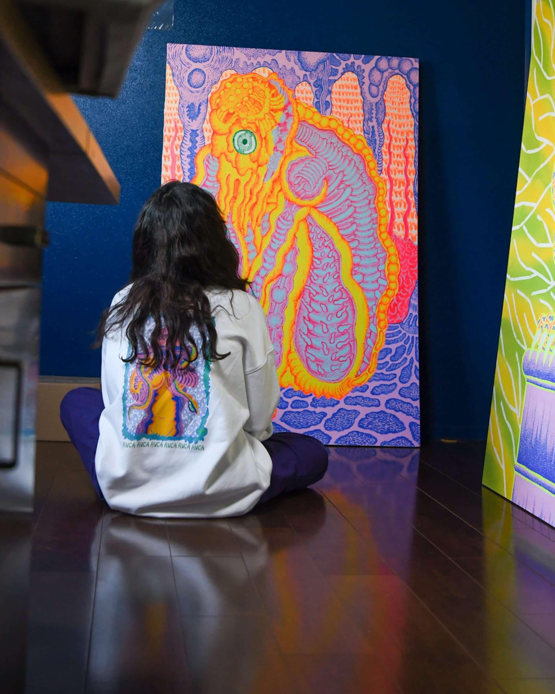 TETSUNORI TAWARAYAのアート展が「RVCA STORE SHIBUYA Gallery」にて開催決定!アーカイブ作品など期間限定で展示 art201125_tetsunori-tawaraya_17-1920x2400