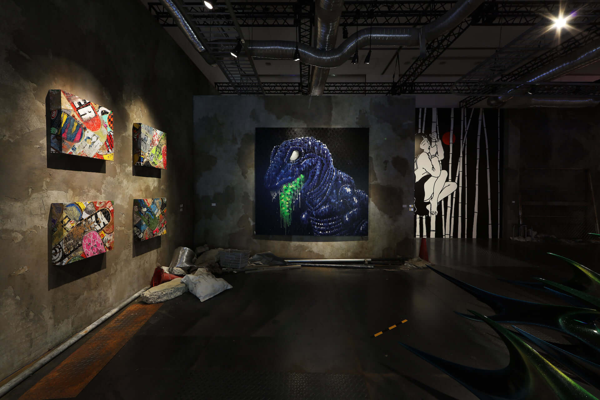 NANZUKAがキュレーションするグループ展<JP POP UNDERGROUND>が心斎橋PARCOにて開催中!田名網敬一、山口はるみ、YOSHIROTTENらが参加 art201125_nanzuka-jpu_2-1920x1280