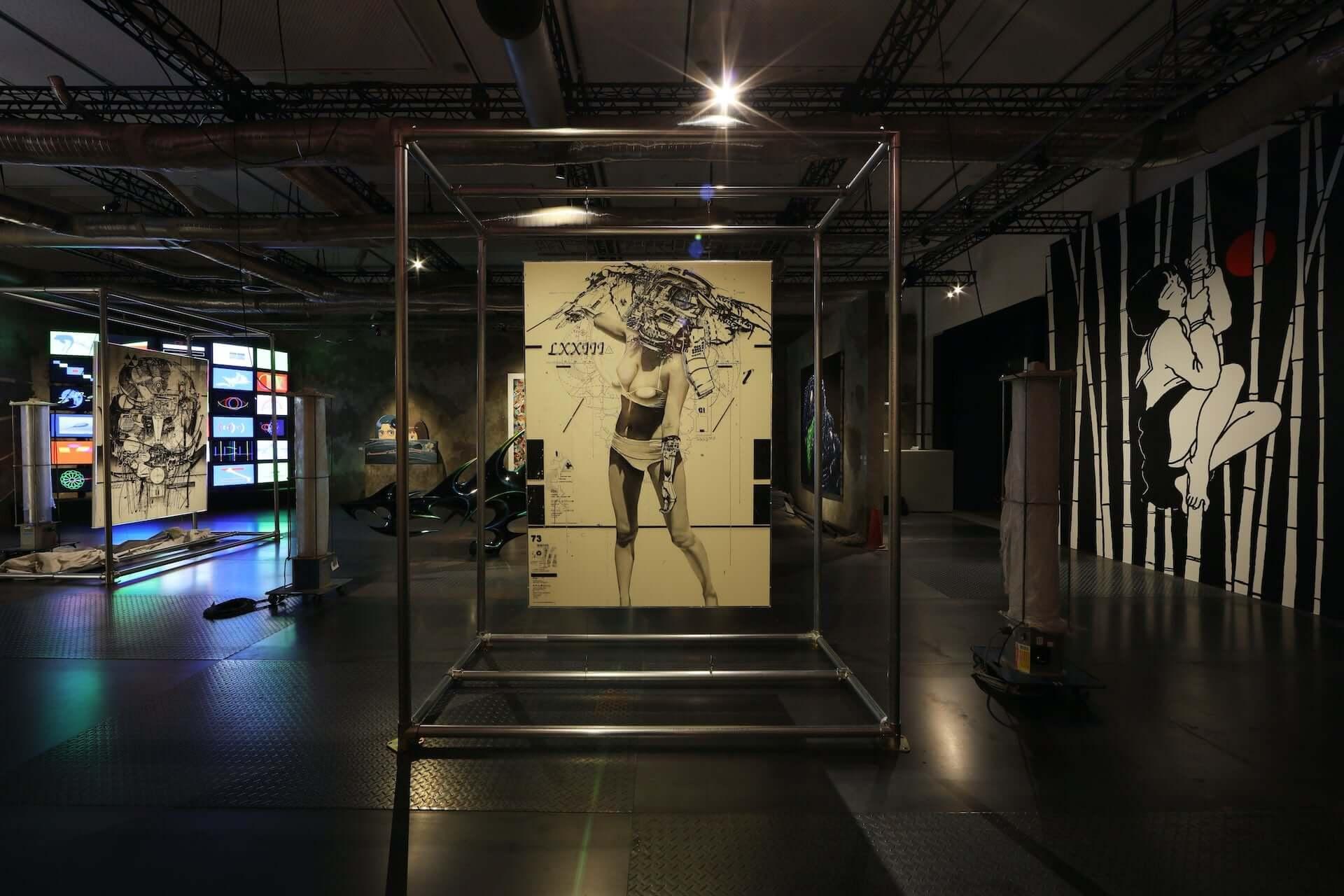 NANZUKAがキュレーションするグループ展<JP POP UNDERGROUND>が心斎橋PARCOにて開催中!田名網敬一、山口はるみ、YOSHIROTTENらが参加 art201125_nanzuka-jpu_11-1920x1280